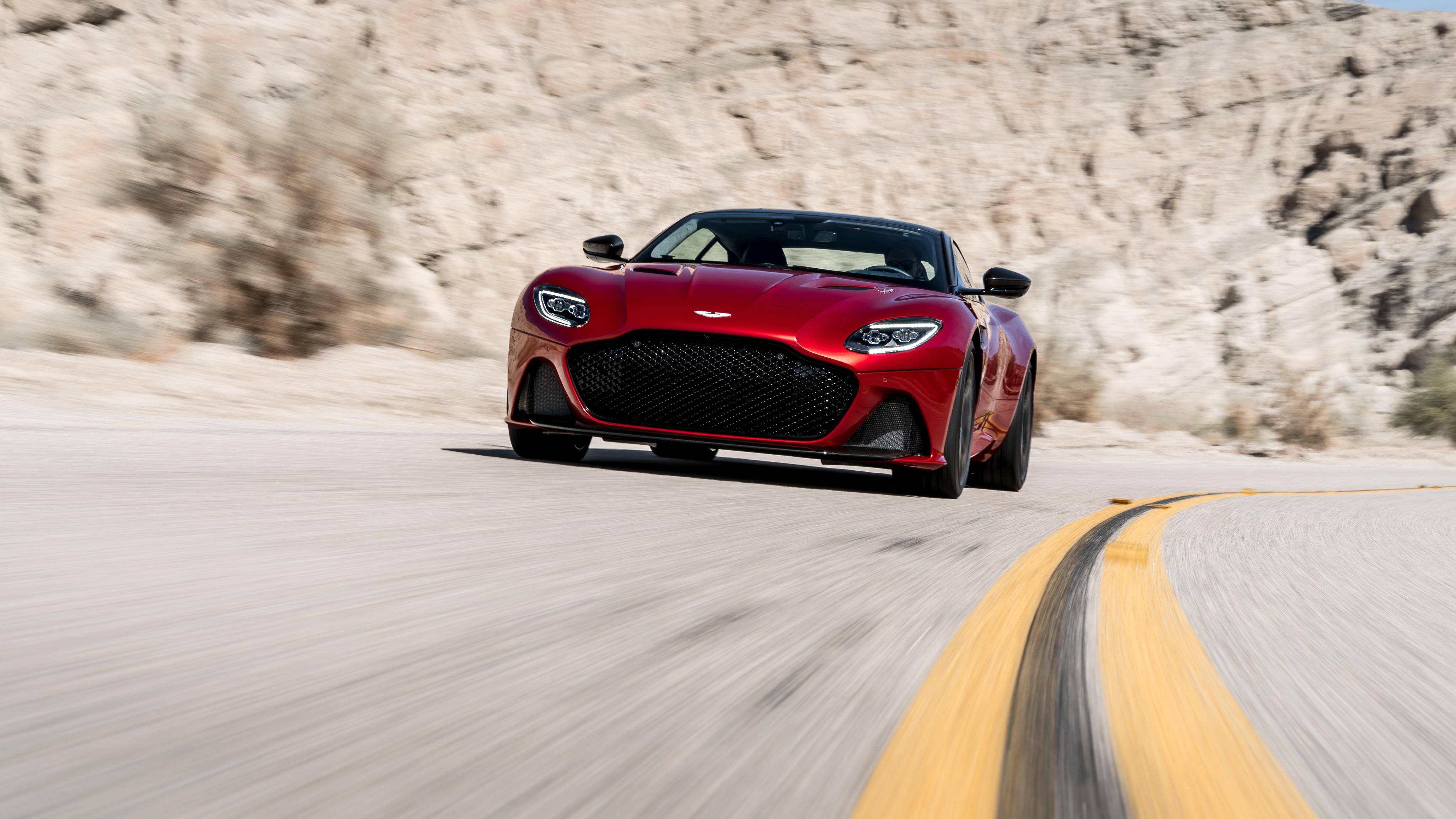 Aston Martin Dbs Superleggera 2018 4k 6 Wallpaper Hd Car