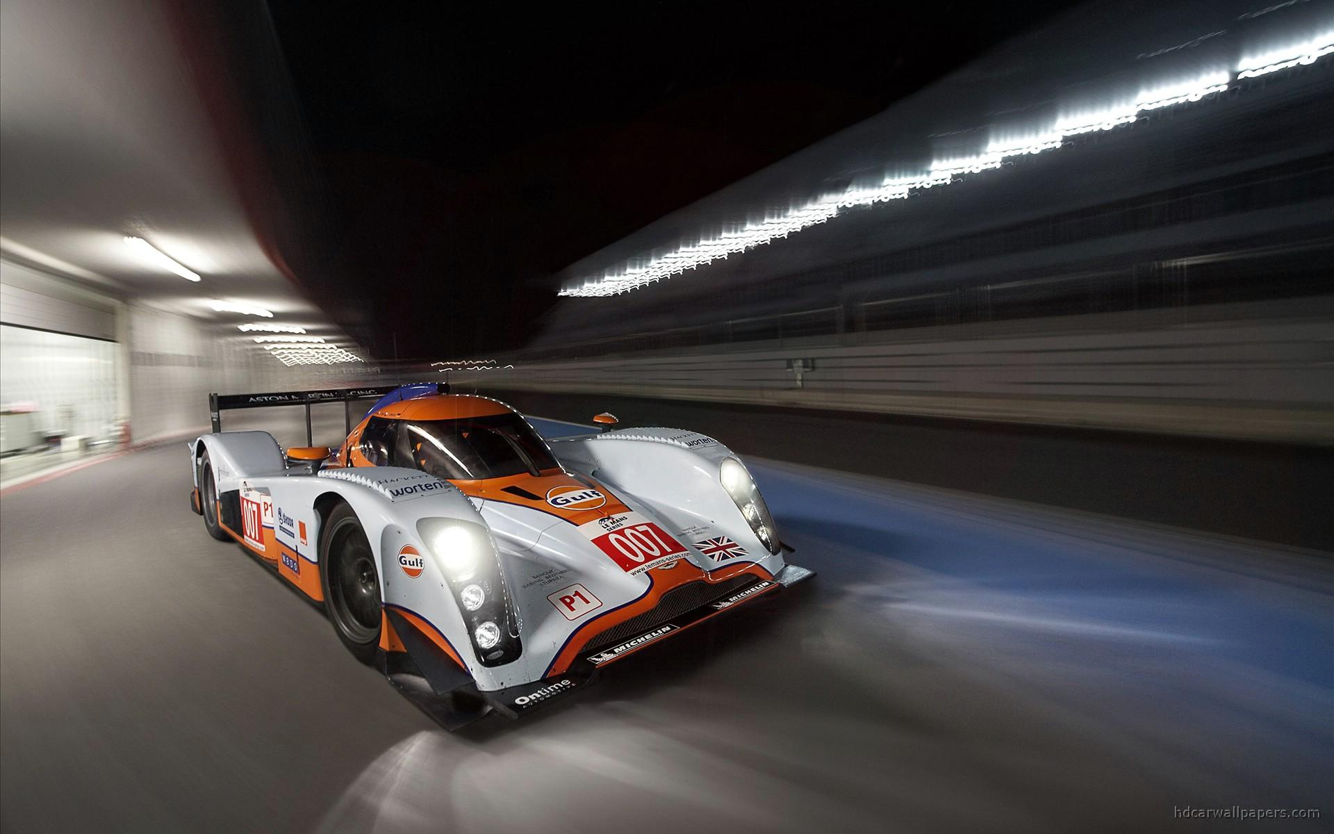 Aston Martin Night Race Wallpaper Hd Car Wallpapers Id 42