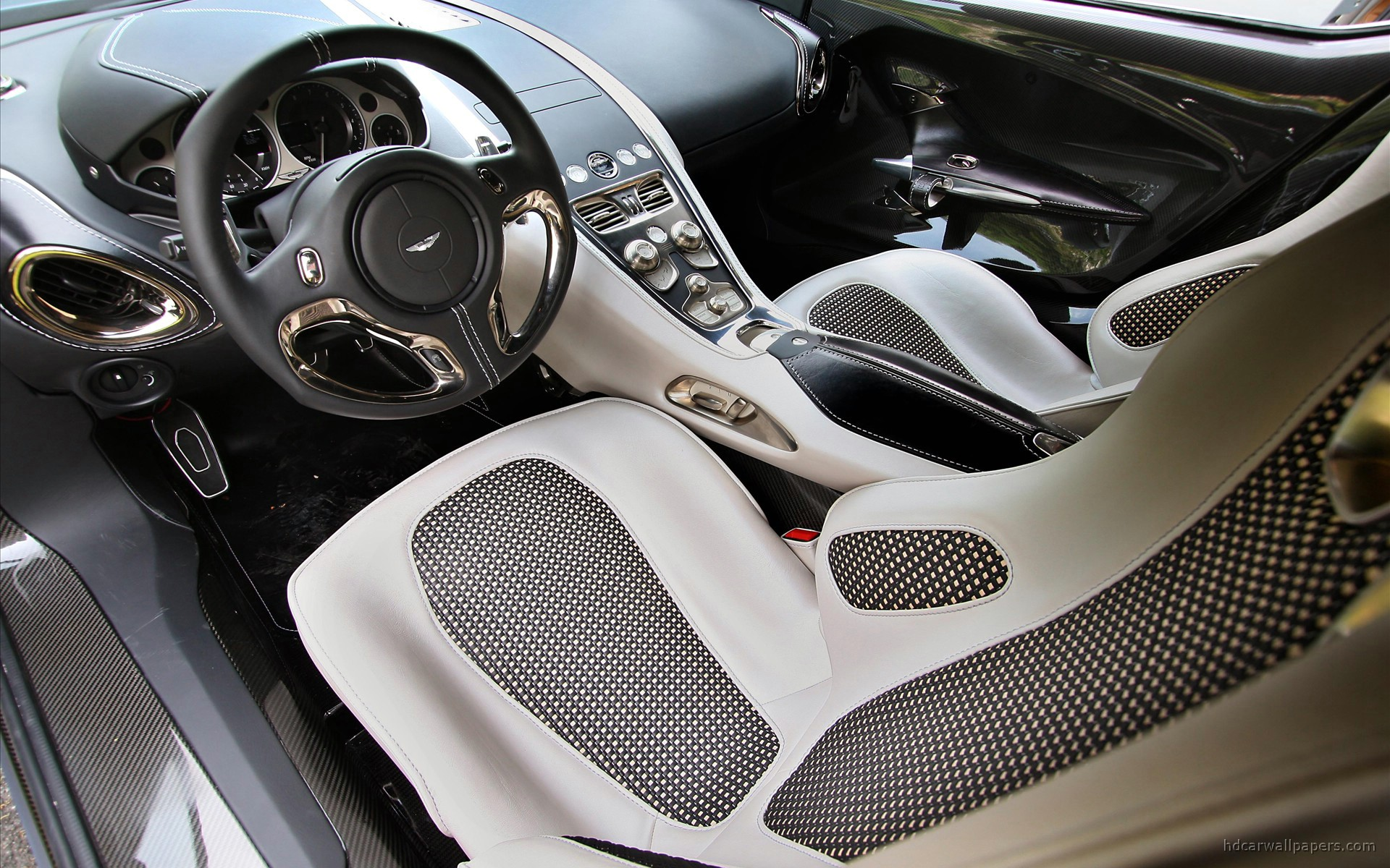 Aston Martin One 77 Interior Wallpaper Hd Car Wallpapers