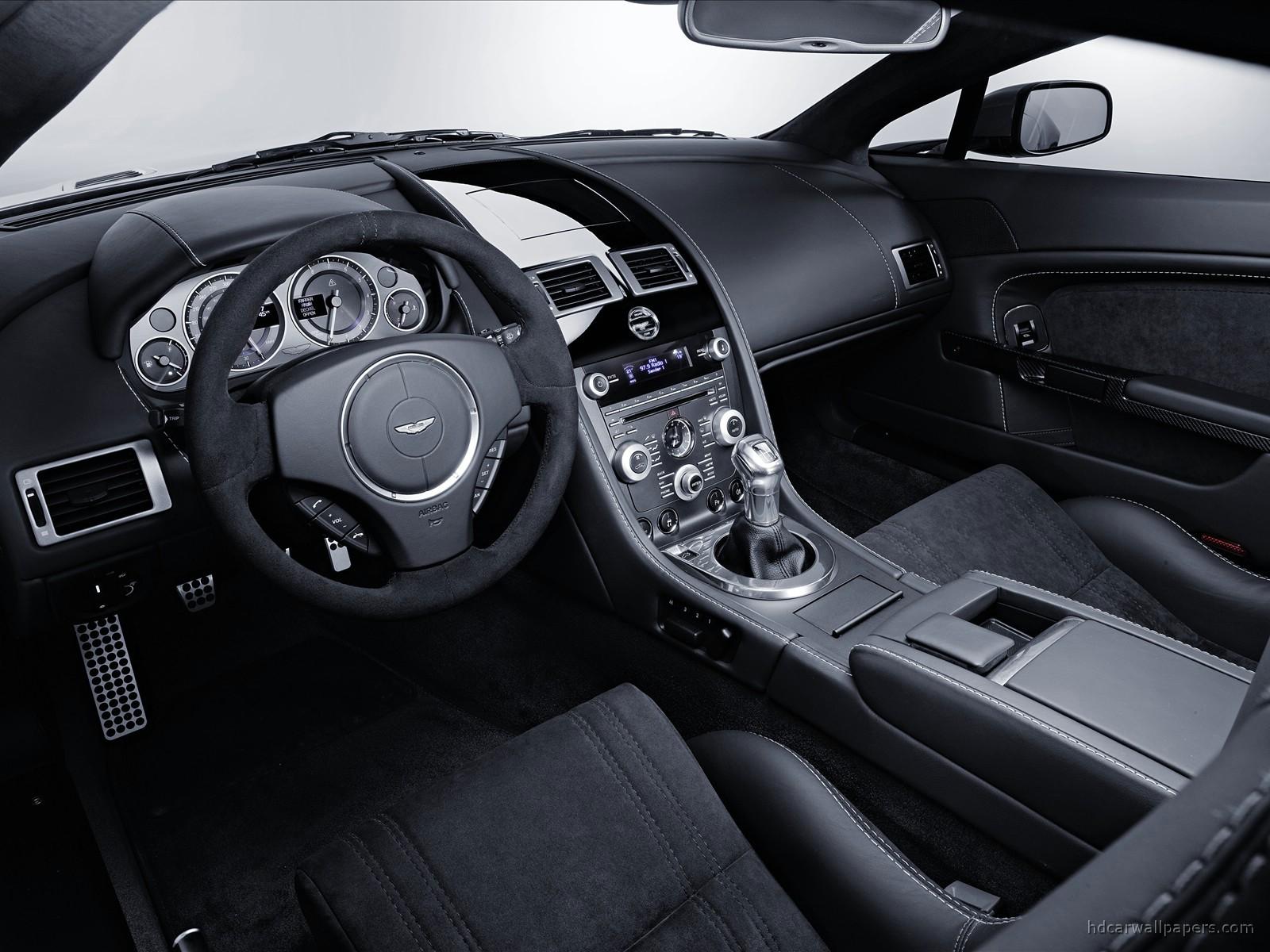 Aston Martin V12 Vantage Interior Wallpaper   HD Car ...