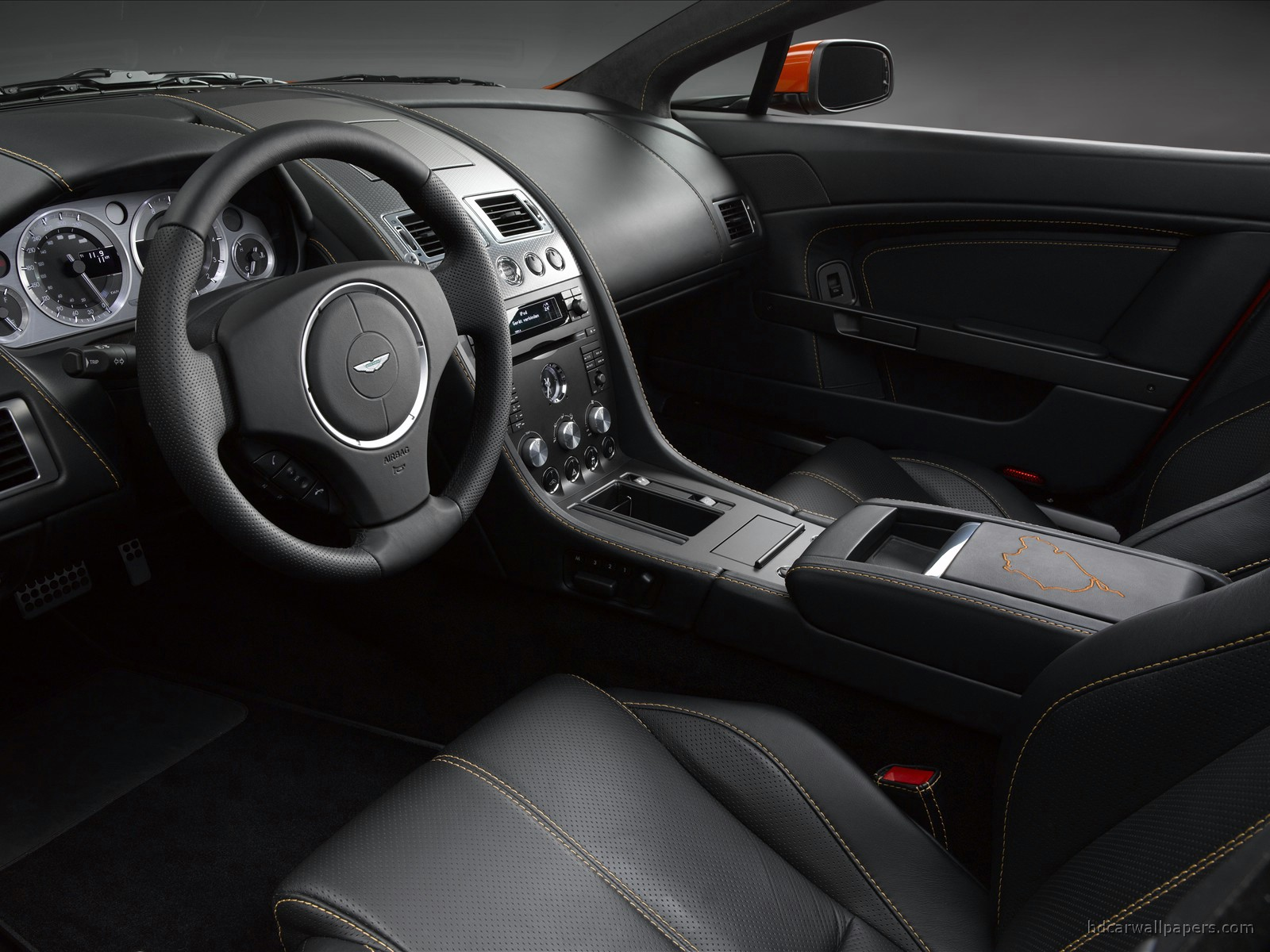 Aston Martin V8 Vantage N400 Interior Wallpaper Hd Car Wallpapers Id 23