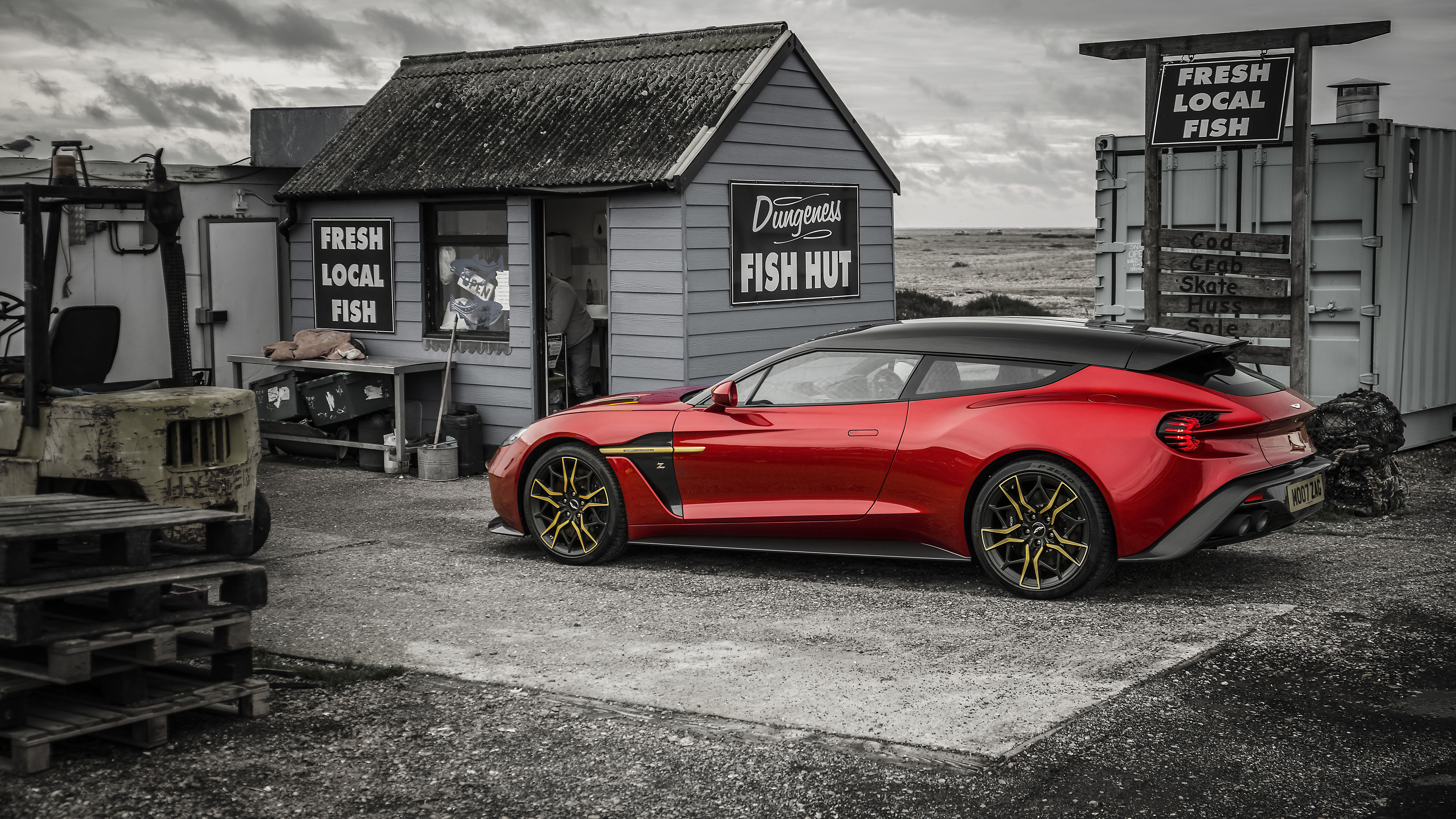 Aston Martin Vanquish Zagato Shooting Brake 4k Wallpaper Hd Car Wallpapers Id 12284
