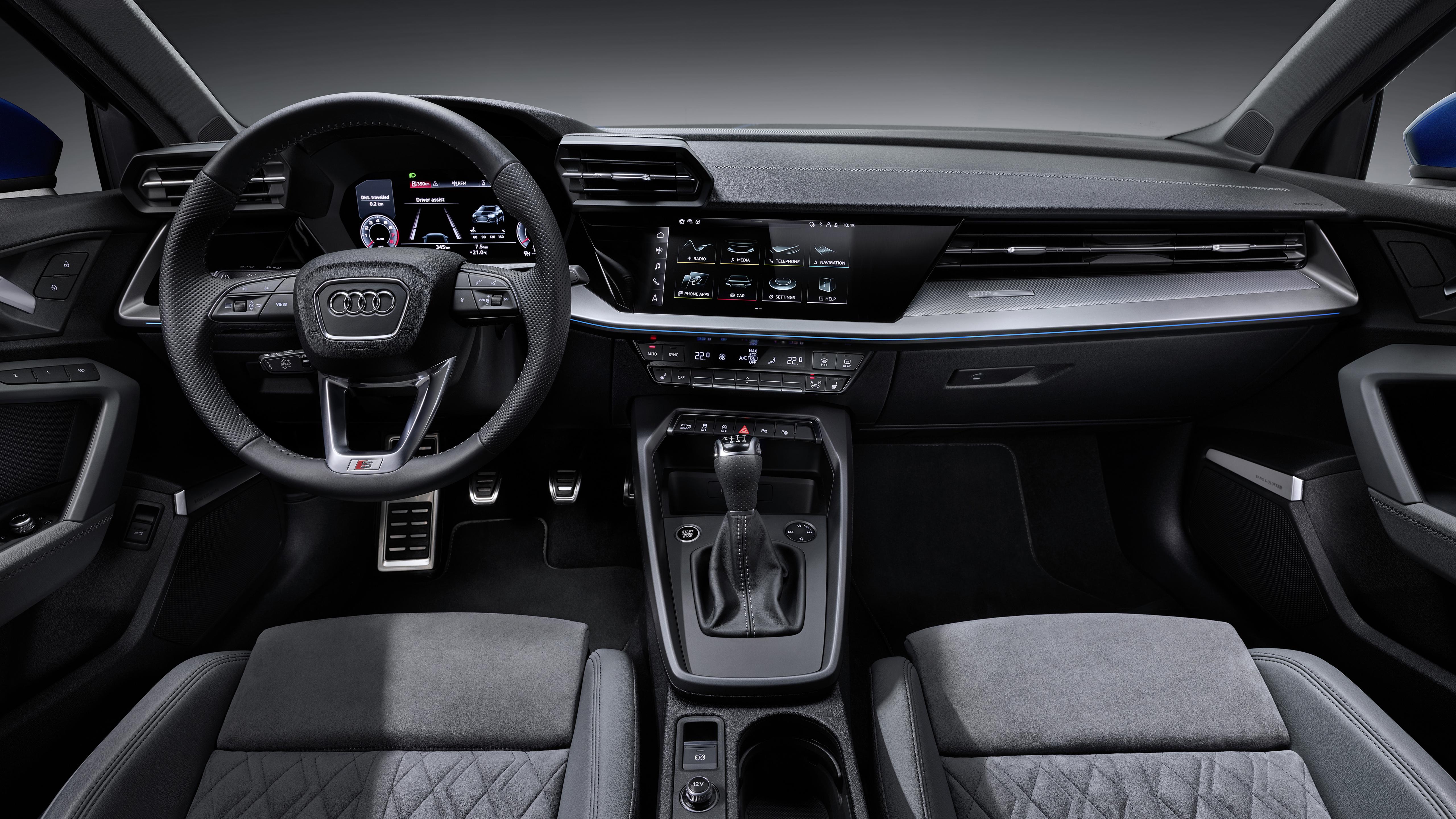 Audi A3 Sportback 35 Tfsi 2020 4k Interior Wallpaper Hd Car Wallpapers Id 14463