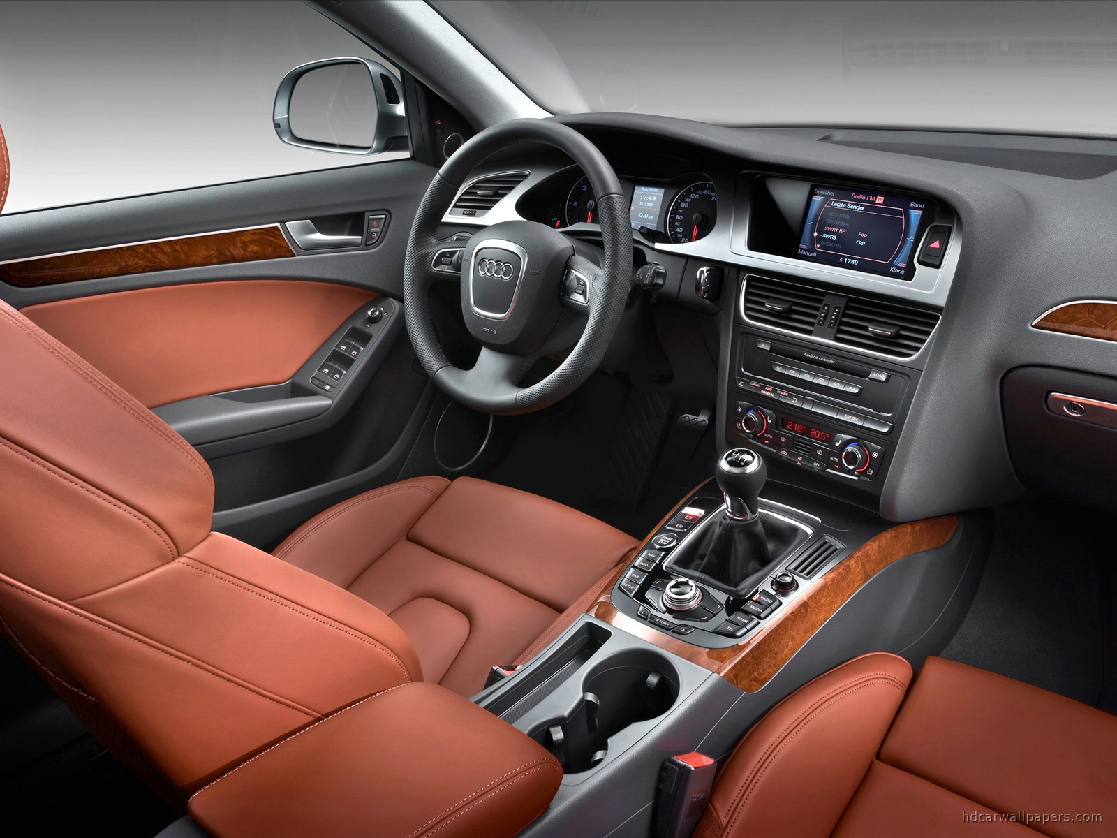 audi a4 avant interior wallpaper hd car wallpapers id 106. Black Bedroom Furniture Sets. Home Design Ideas