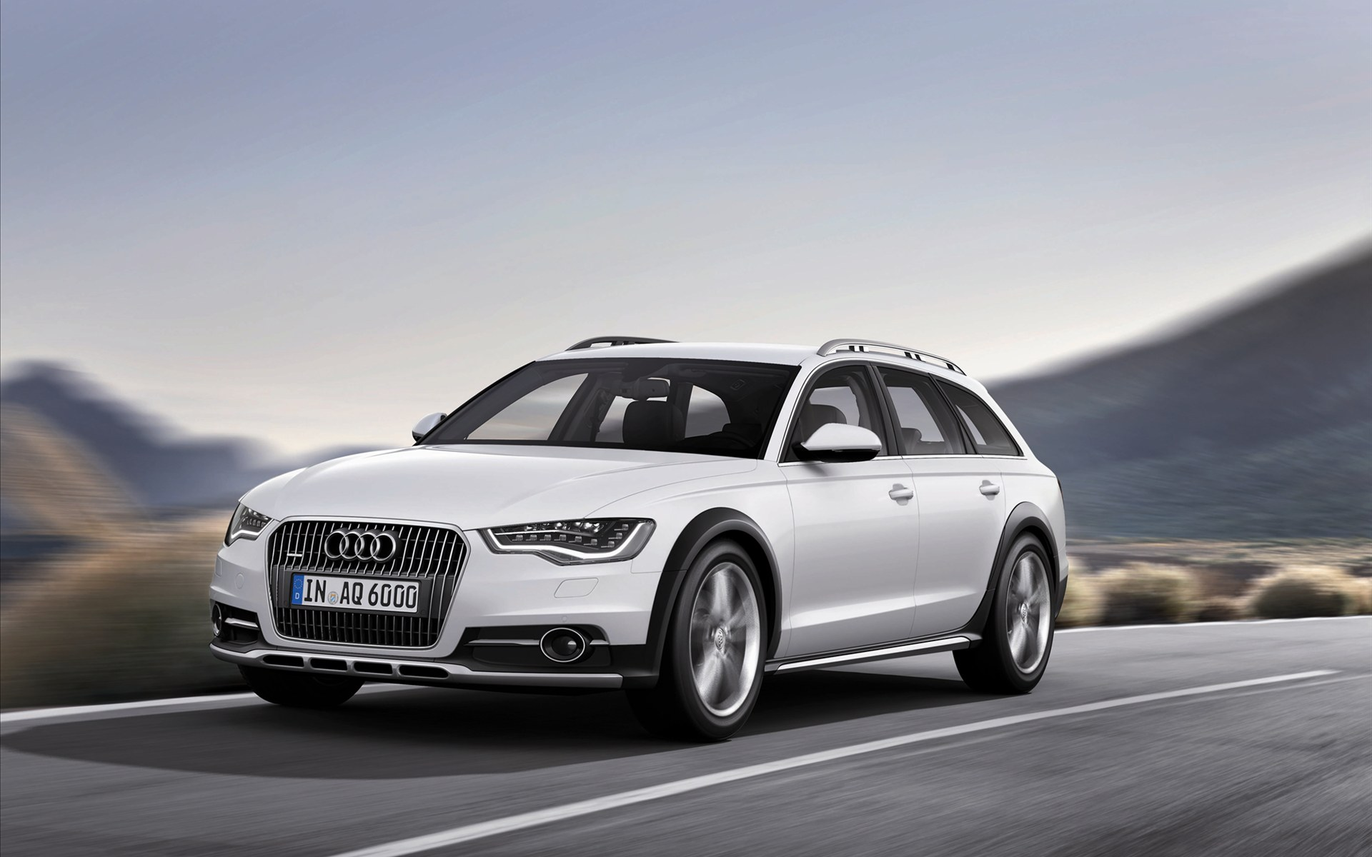 audi a6 quattro 2012 wallpaper hd car wallpapers id 2410. Black Bedroom Furniture Sets. Home Design Ideas