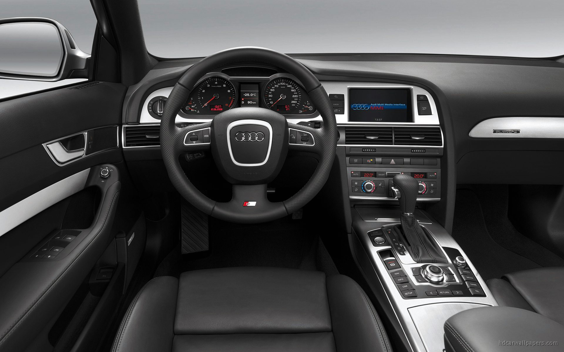 Audi A Sedan Interior Wide