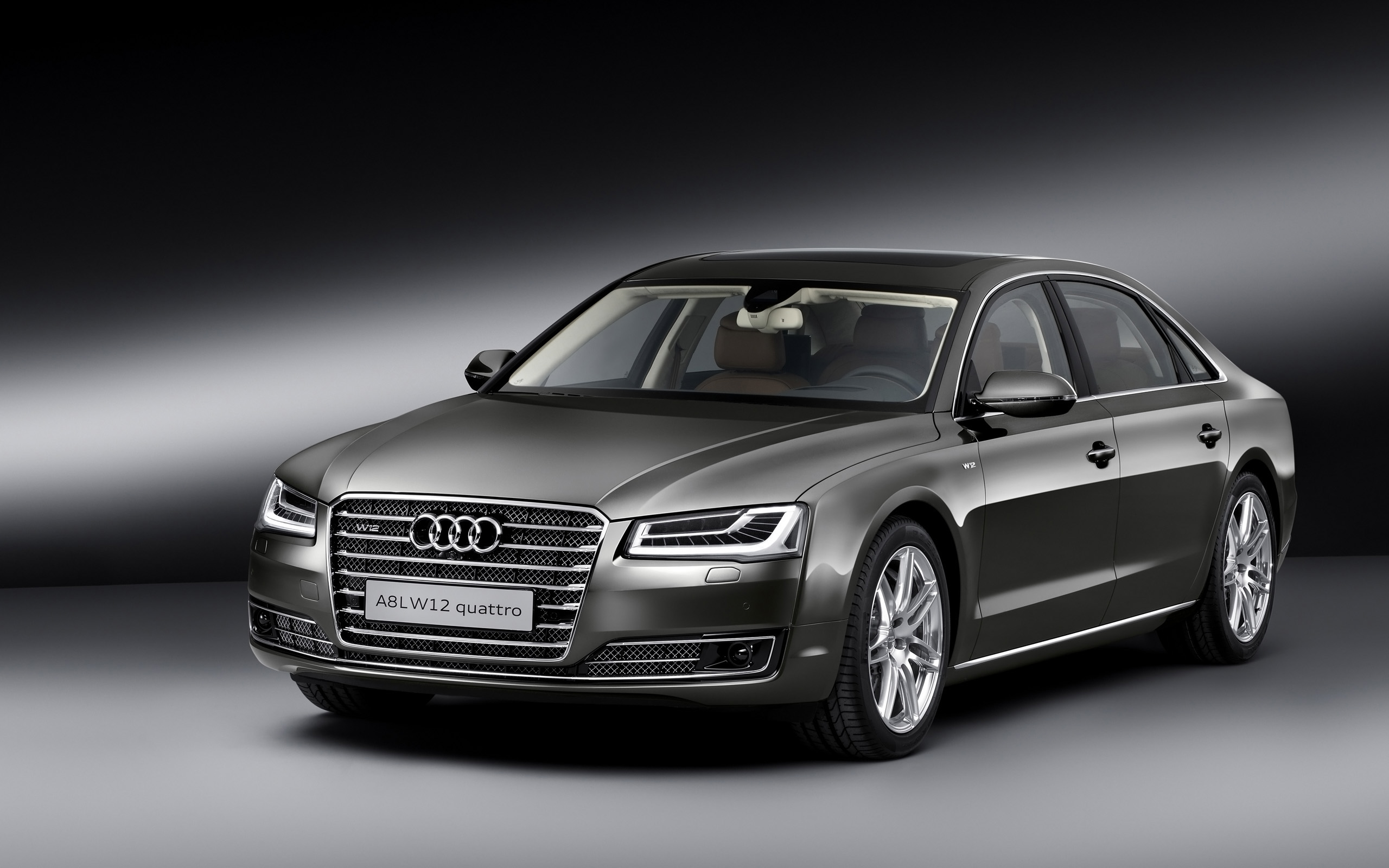 Audi A8 L W12 Exclusive 2014 Wallpaper