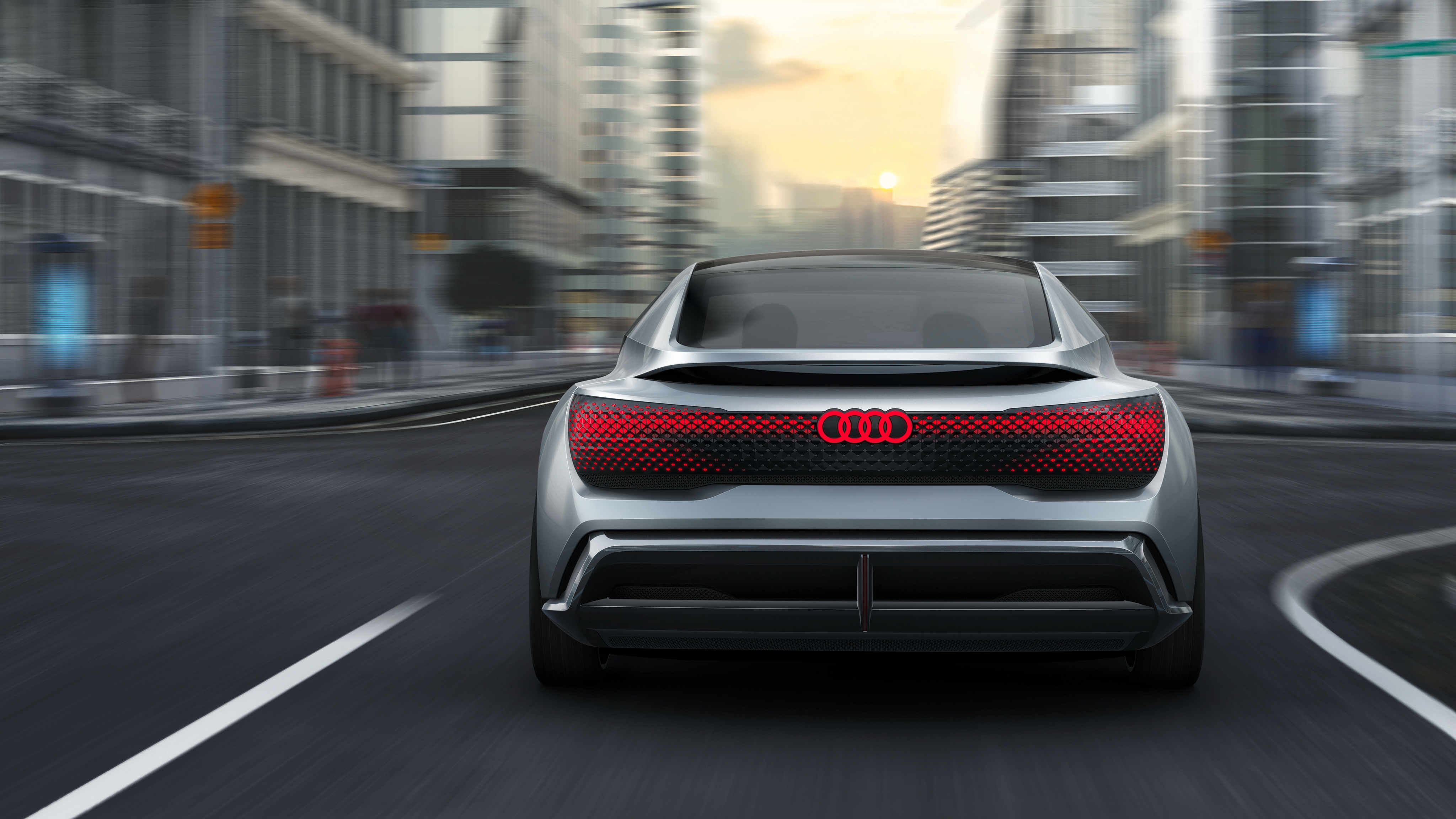 Audi Aicon Frankfurt Motor Show 2017 4k