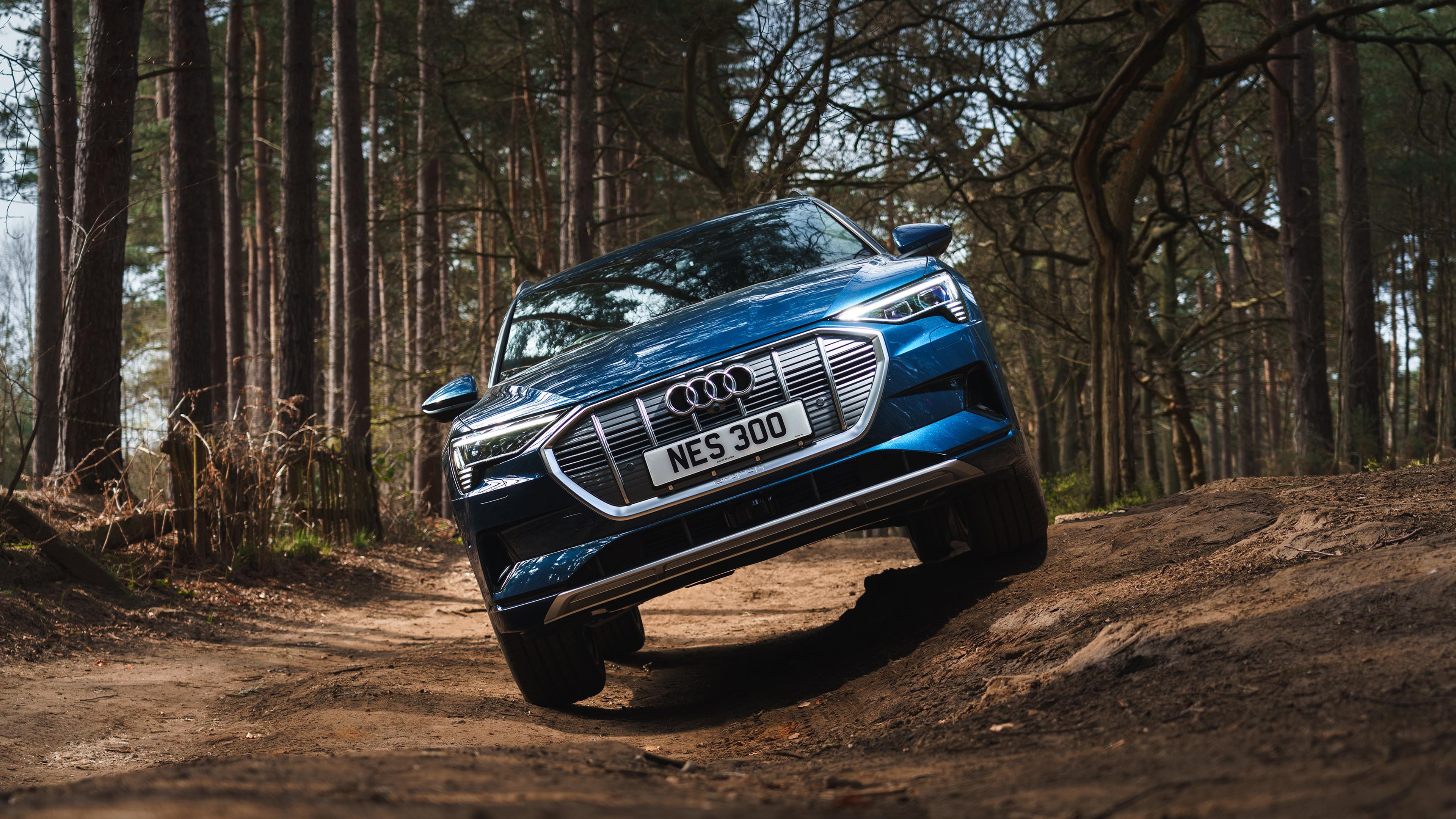 Audi e-tron 55 quattro 2019 4K 3 Wallpaper   HD Car ...