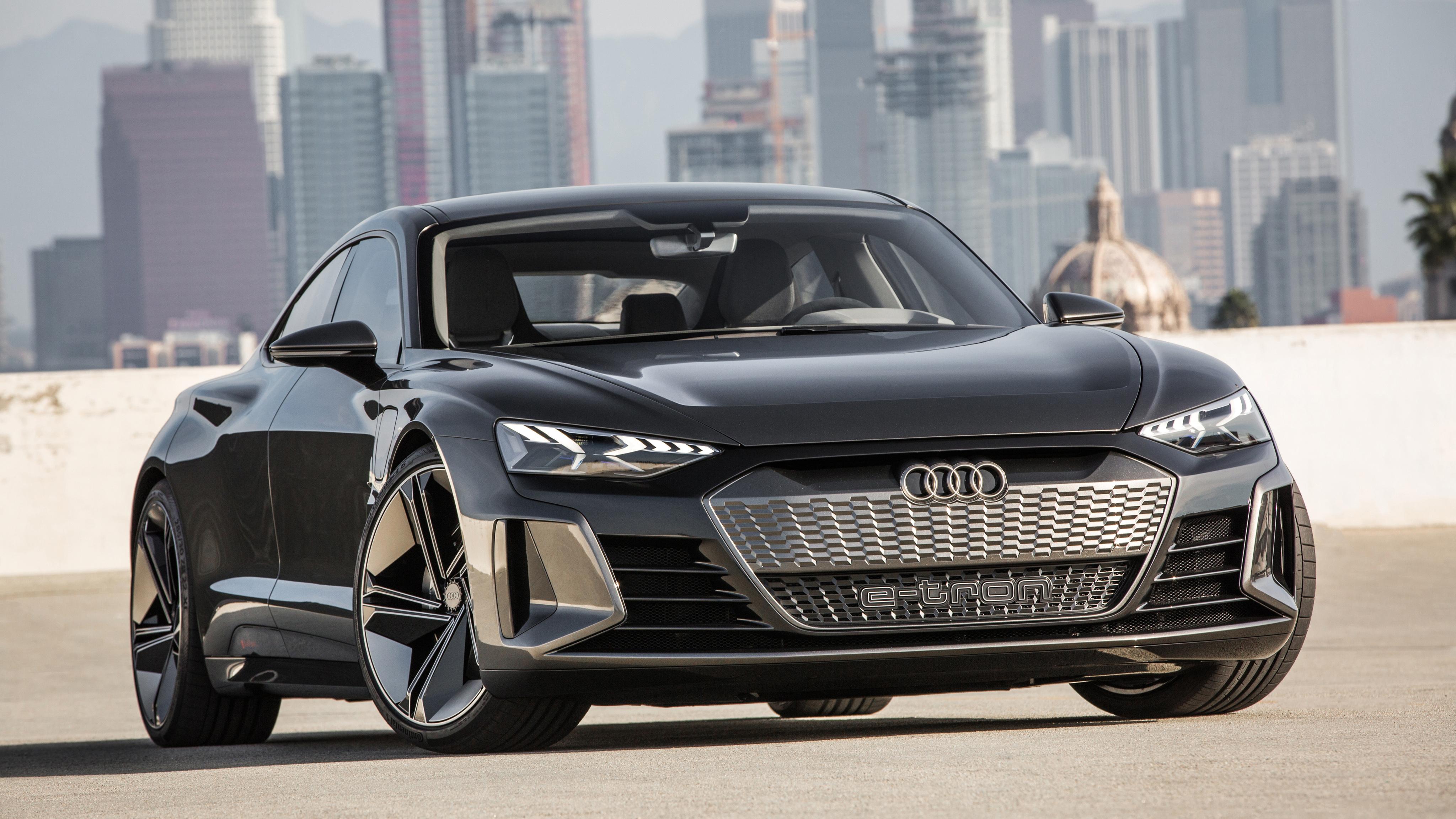 Audi E Tron Gt Concept 2019 4k 3 Wallpaper Hd Car Wallpapers Id 11601