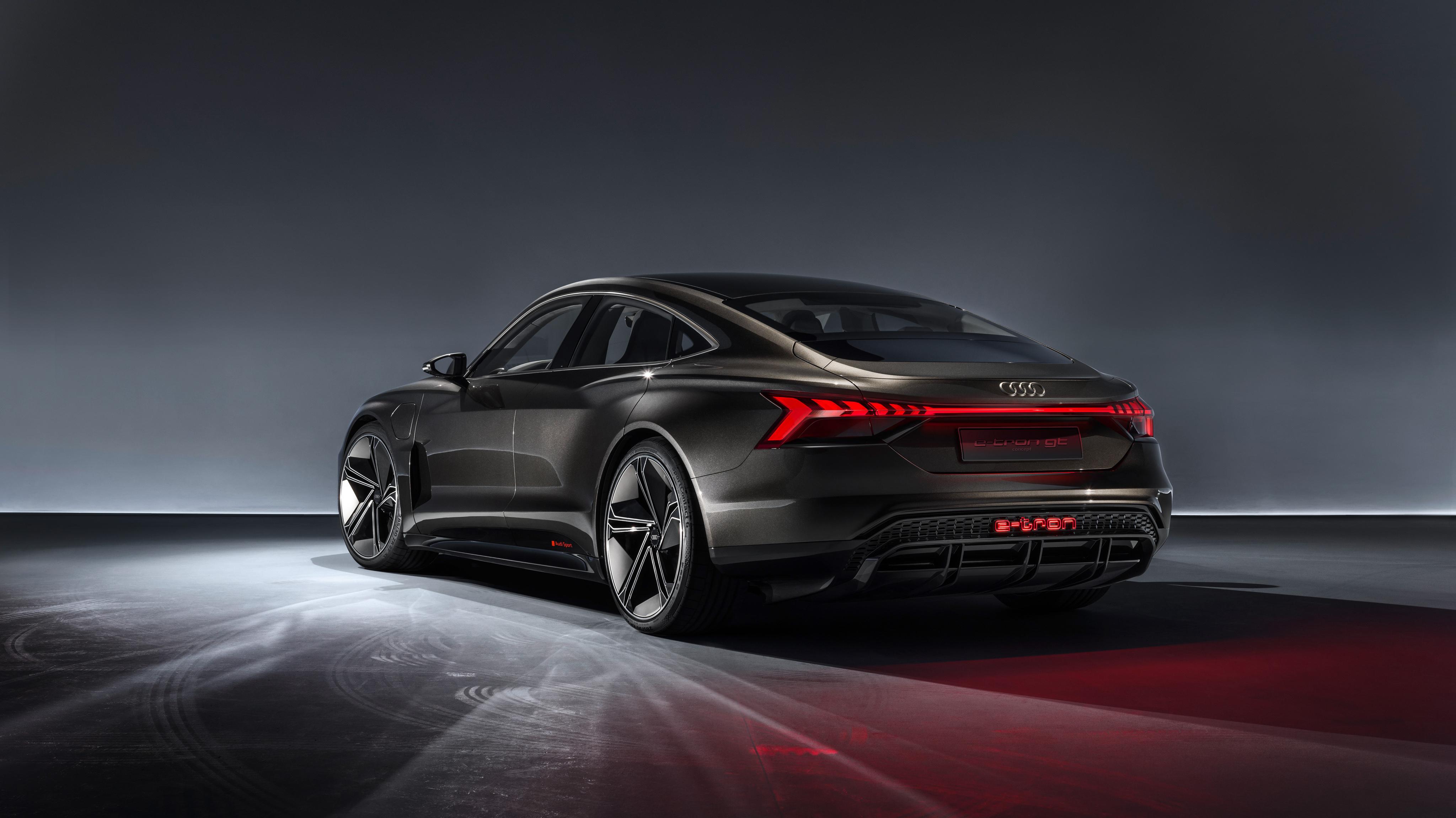 Audi E Tron Gt Concept 2019 4k 4 Wallpaper Hd Car Wallpapers Id 11597