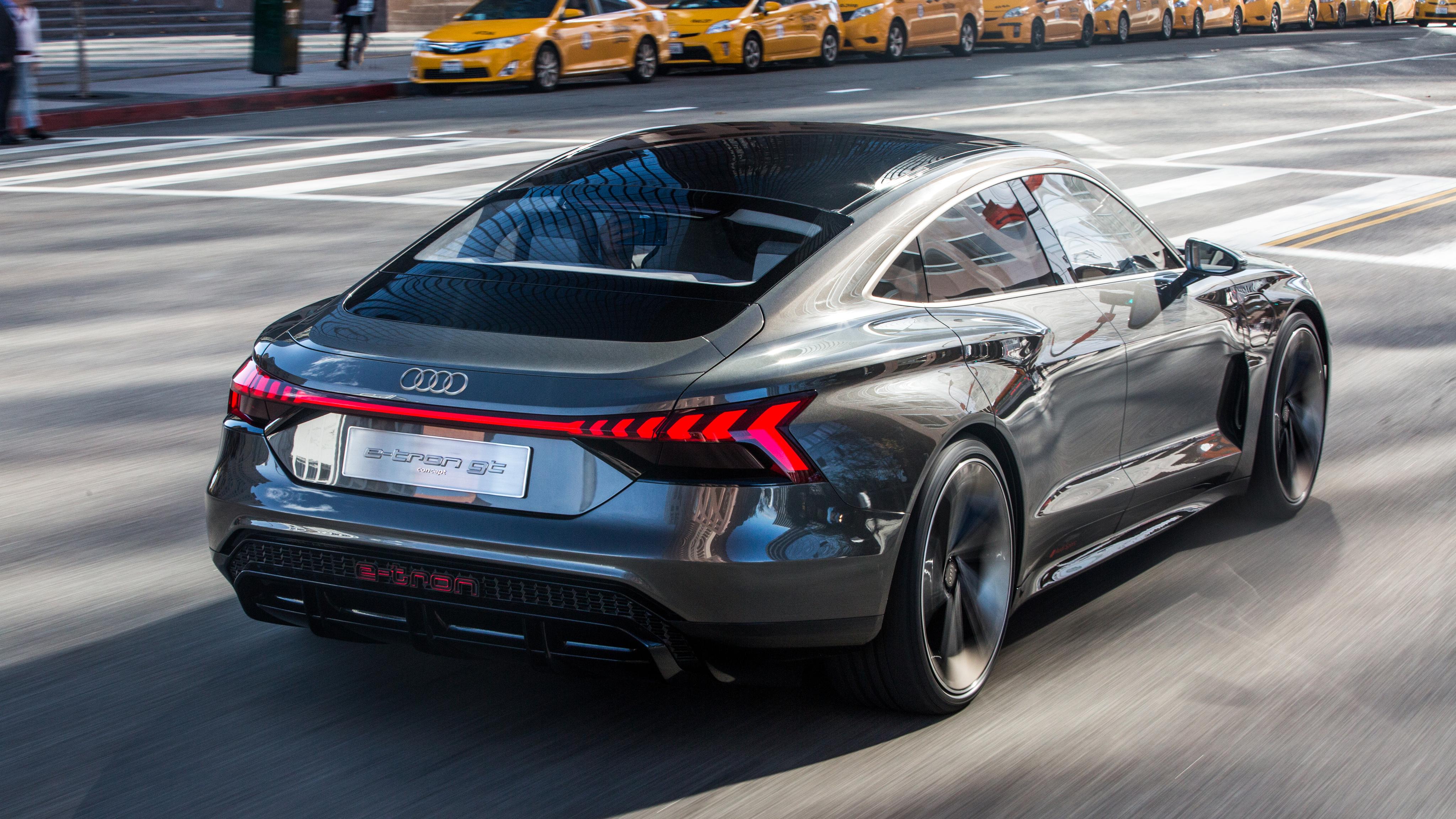 Audi E Tron Gt Concept 2019 4k 2 Wallpaper Hd Car Wallpapers Id 11749