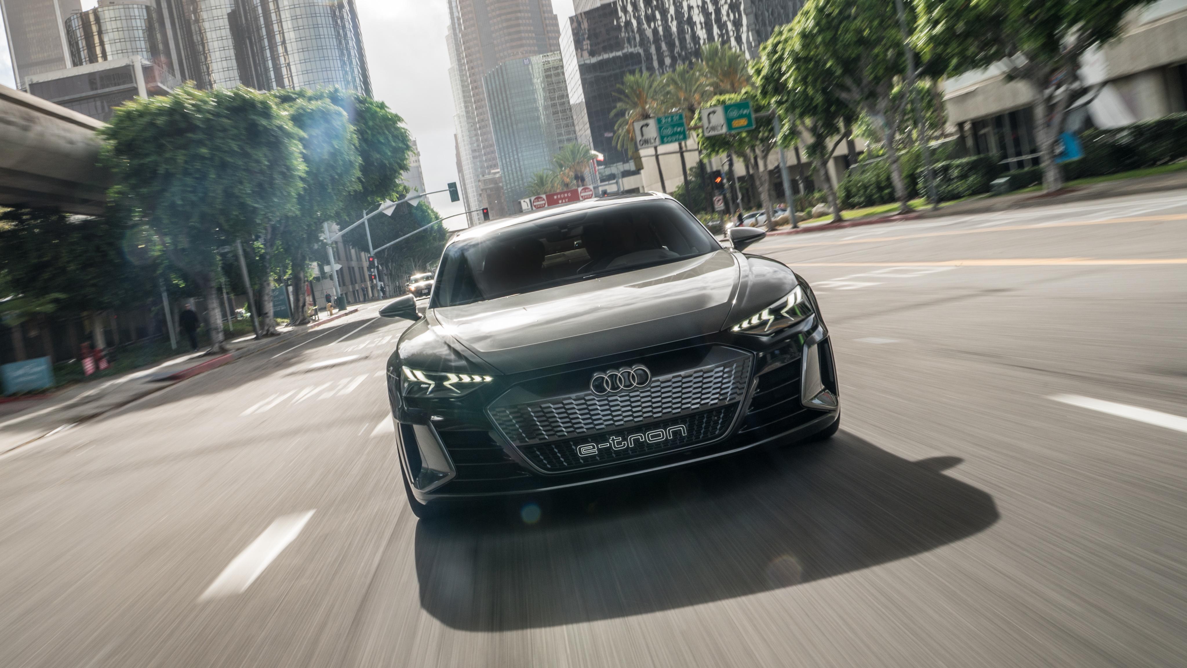 Audi e-tron GT Concept 2019 4K Wallpaper   HD Car ...