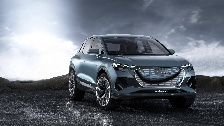 Audi Q4 e-tron Concept 2019 4K Wallpaper   HD Car ...