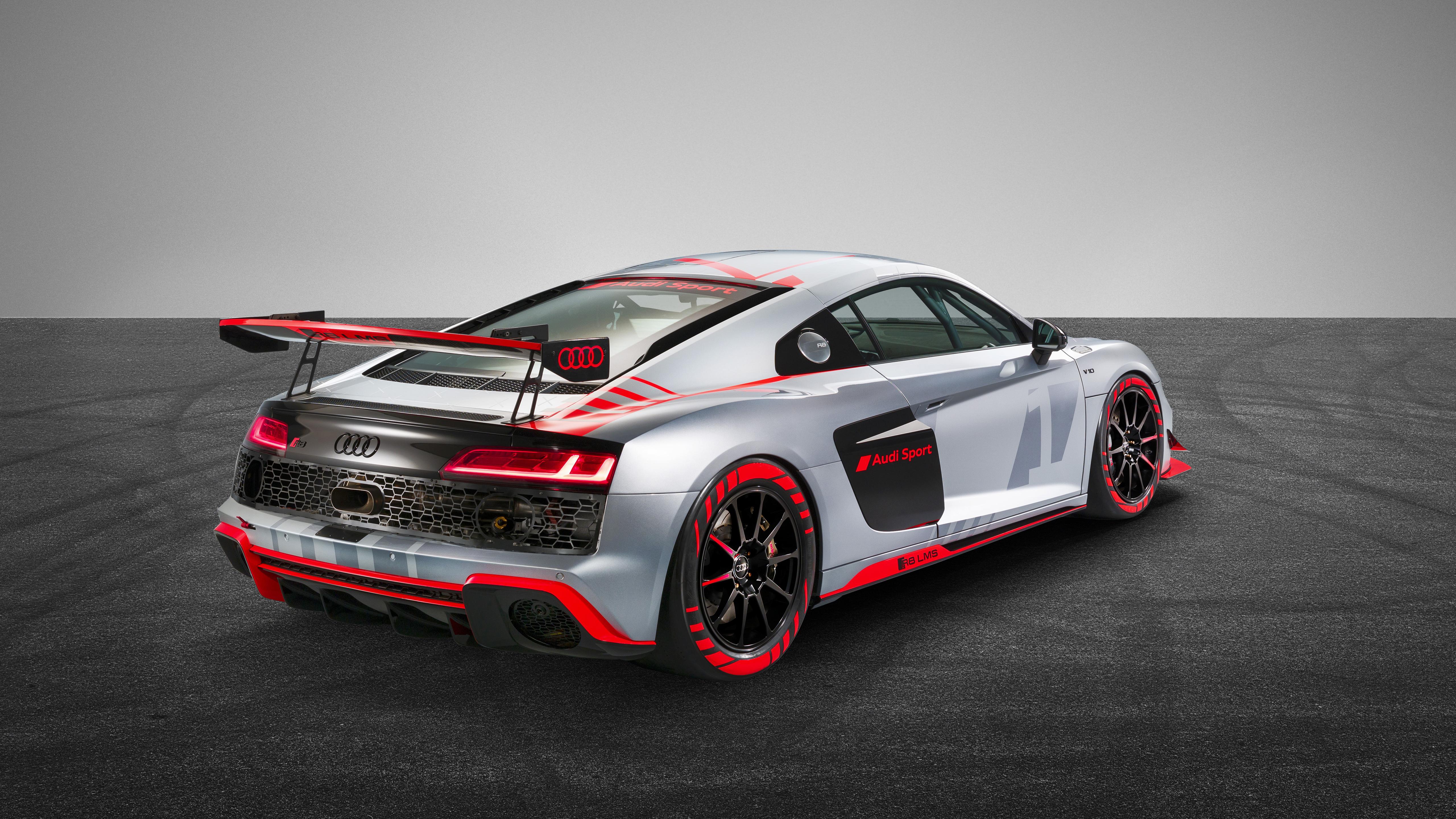 Audi R8 Lms Gt4 2019 4k 3 Wallpaper Hd Car Wallpapers Id 13605
