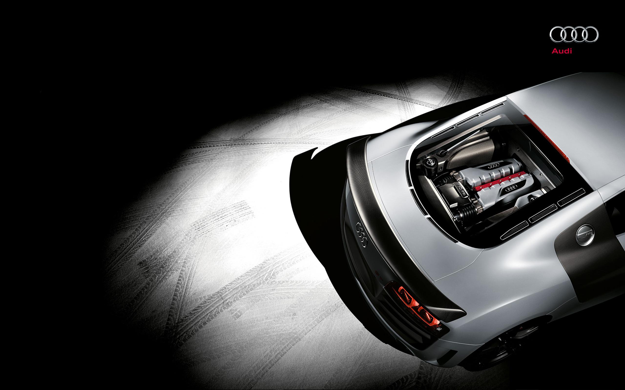 Audi R8 Rear Engine Wallpaper Hd Car Wallpapers Id 2474