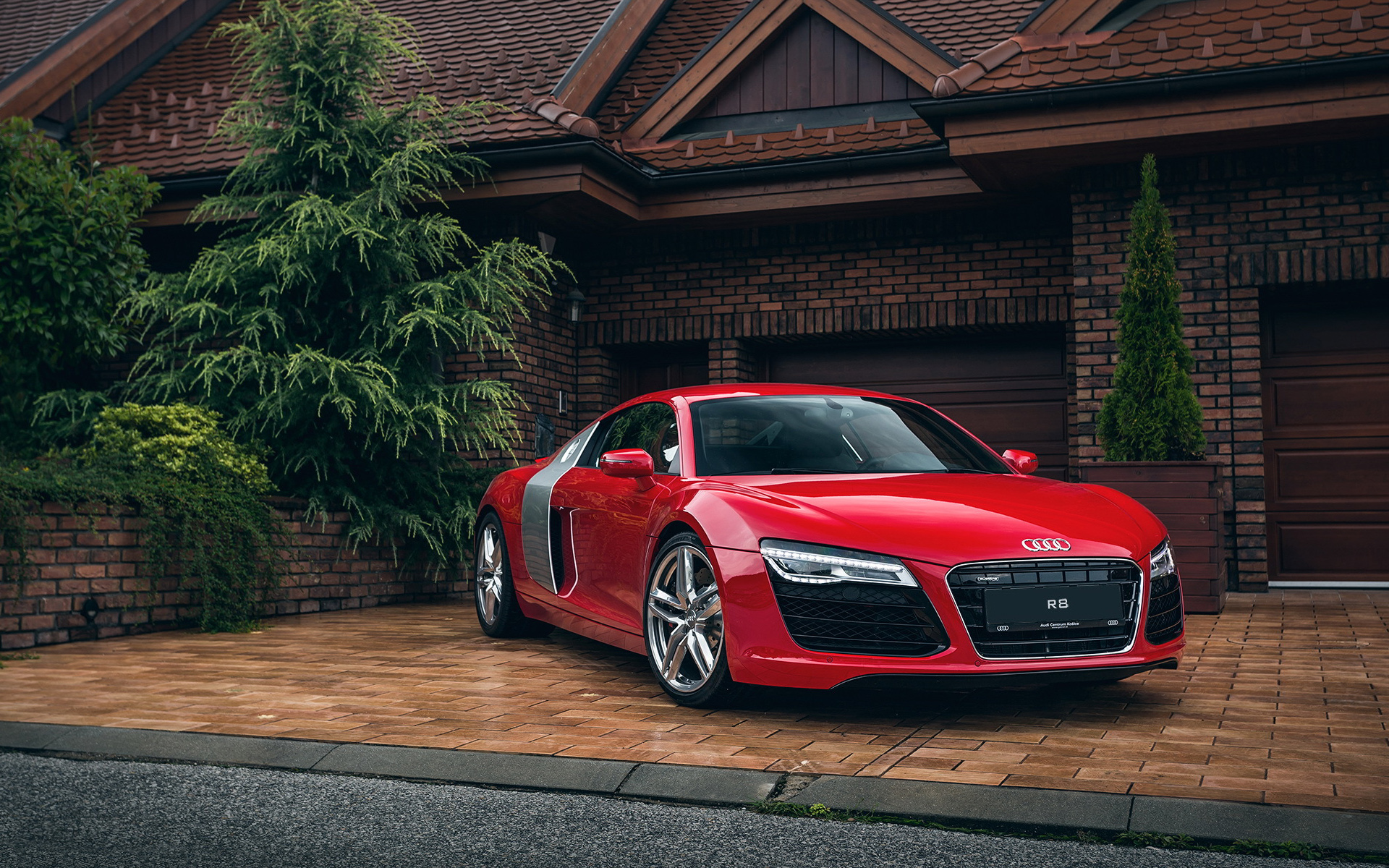 Audi R8 Red Wallpaper Hd Car Wallpapers Id 5501