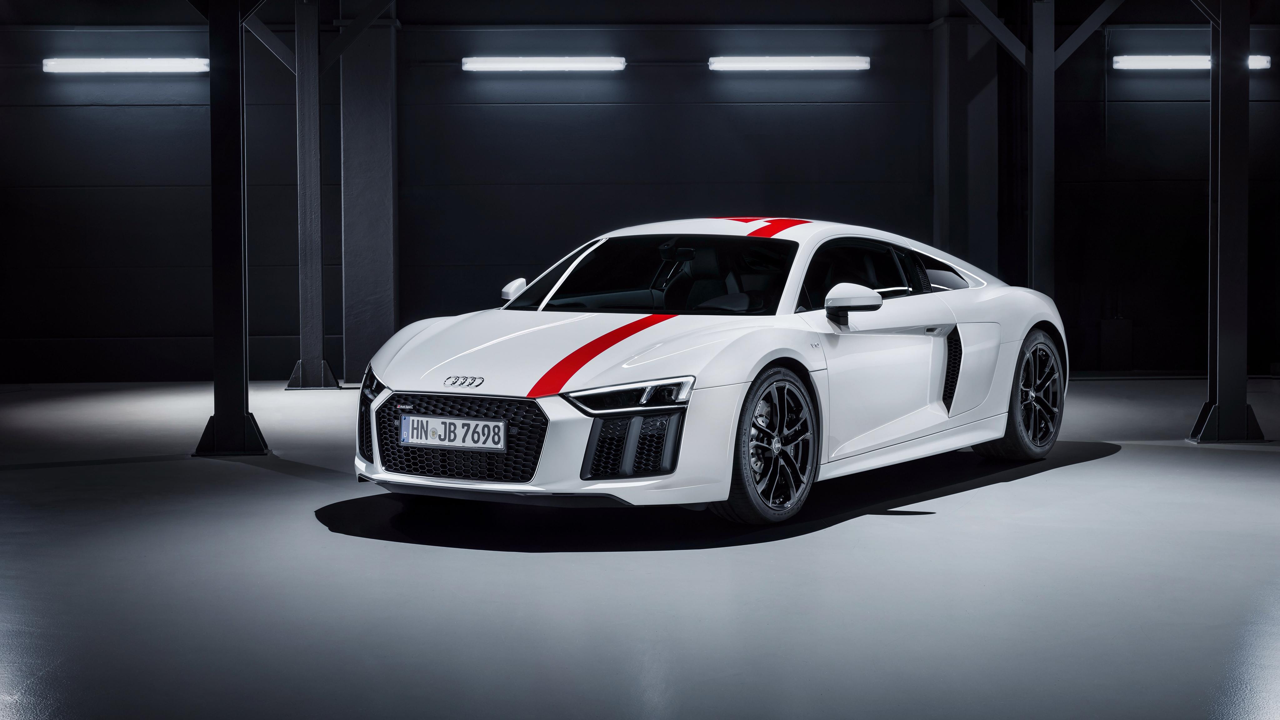 Audi R8 V10 RWS 2018 4K