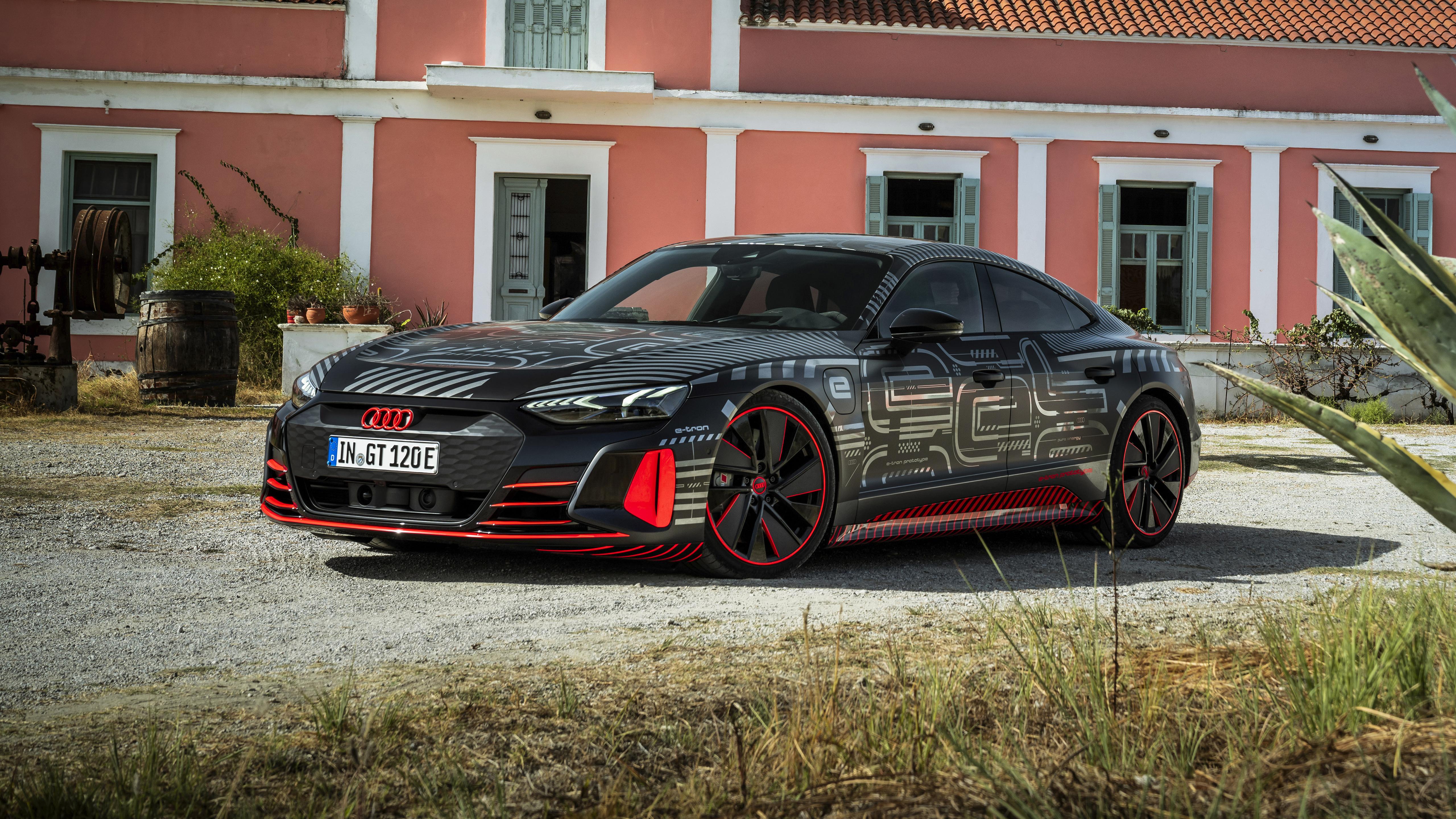 audi rs e-tron gt prototype 2021 5k 5 wallpaper | hd car