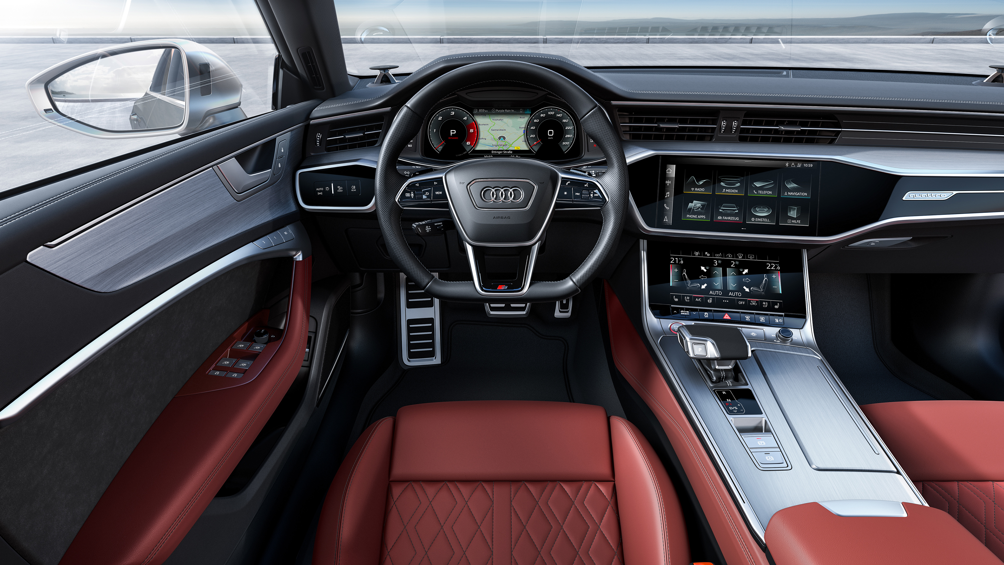 Audi S7 Sportback TDI 2019 4K Interior Wallpaper | HD Car ...