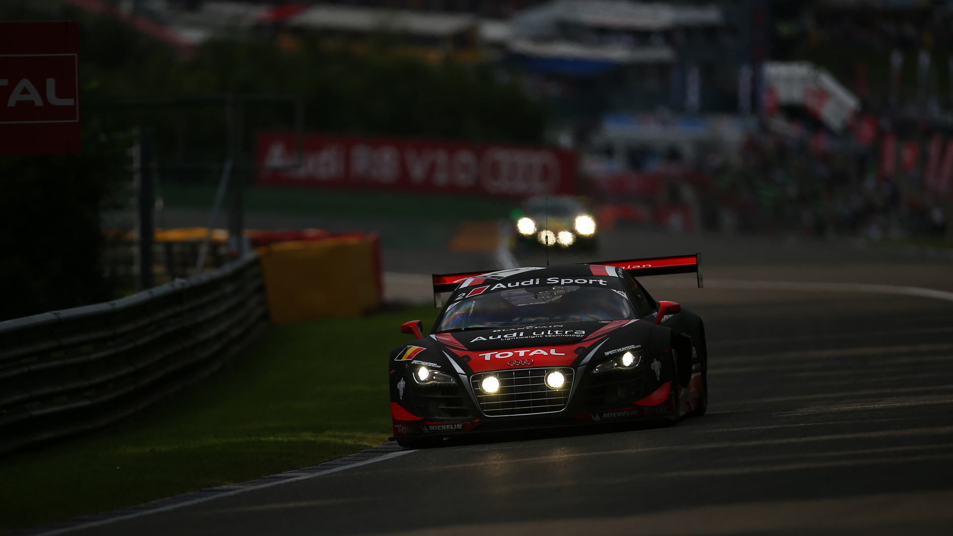 Audi Sport Night Race Wallpaper