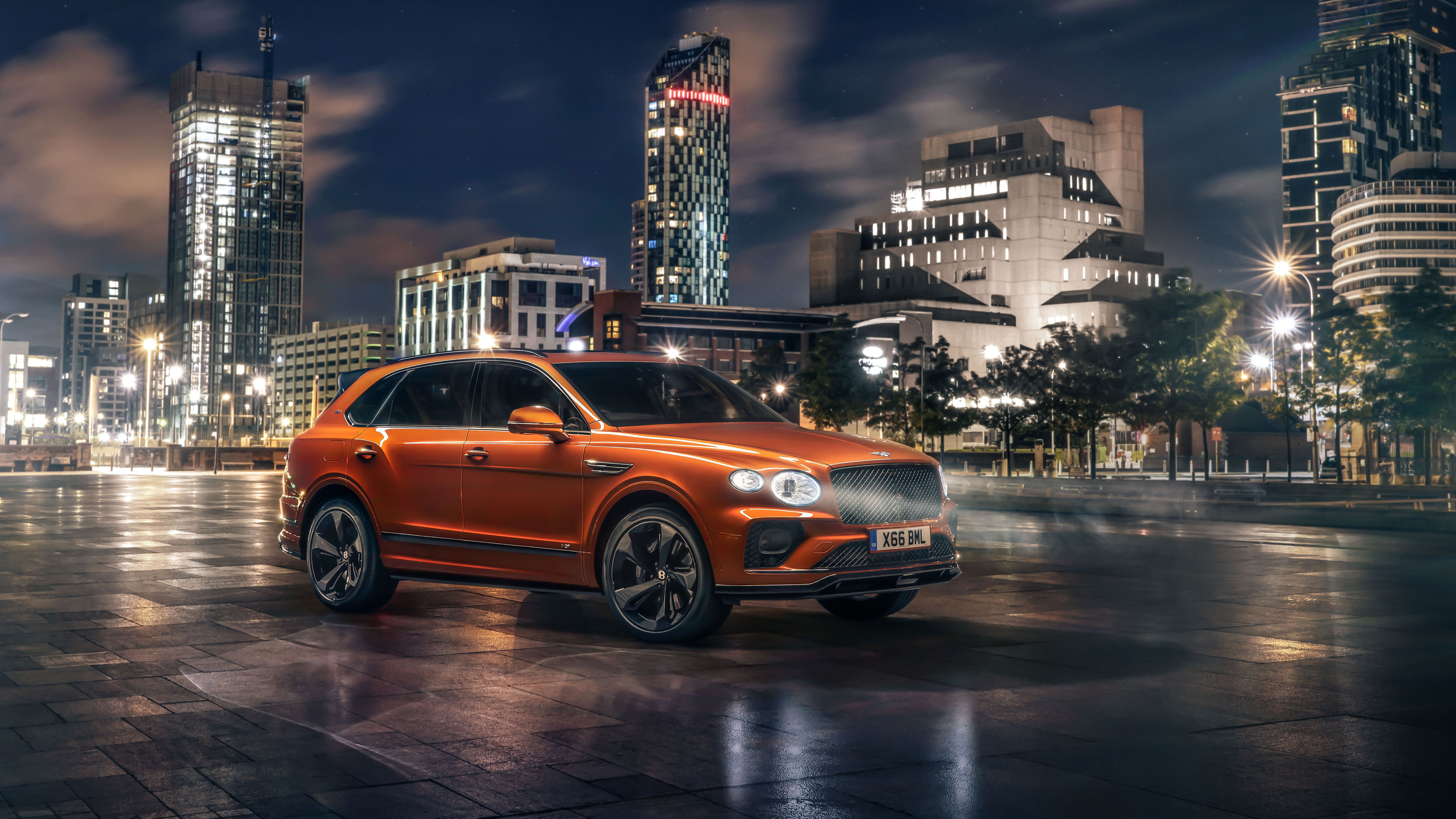 Bentley Bentayga V8 First Edition 2020 5k 2 Wallpaper Hd Car Wallpapers Id 15576