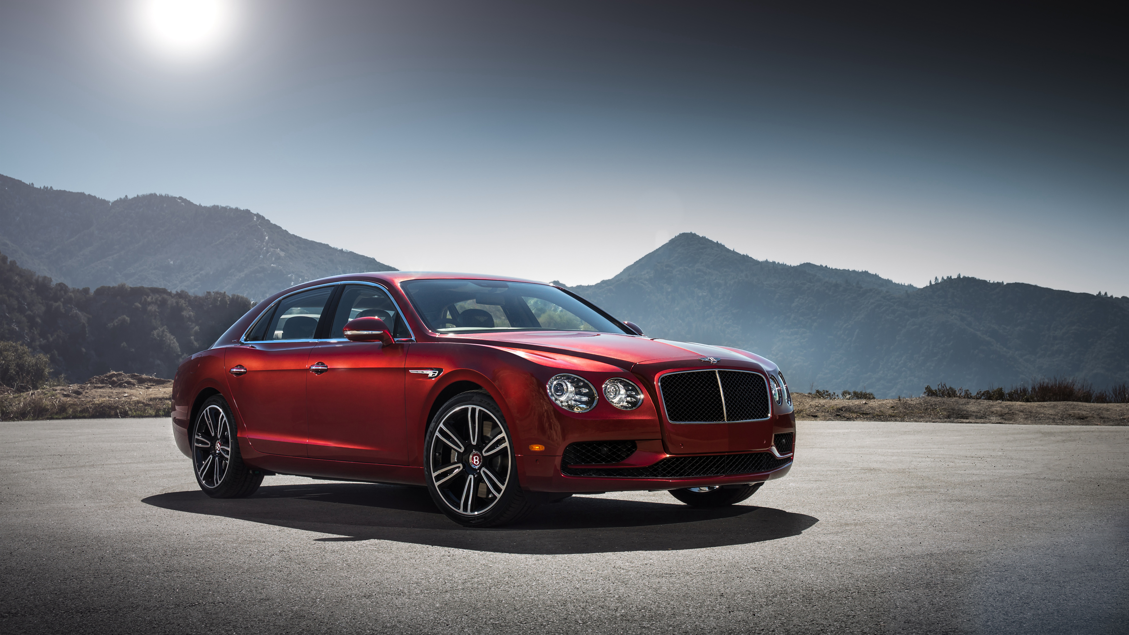 Bentley Continental Flying Spur V8 4K