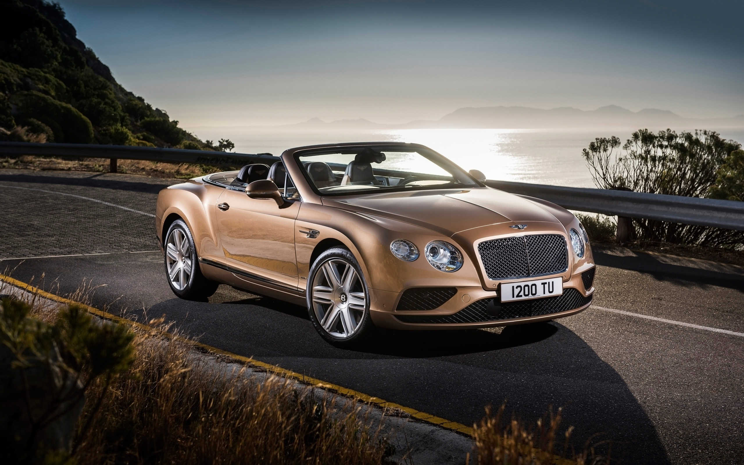 Bentley Continental Gt Convertible 2015 Wallpaper Hd Car