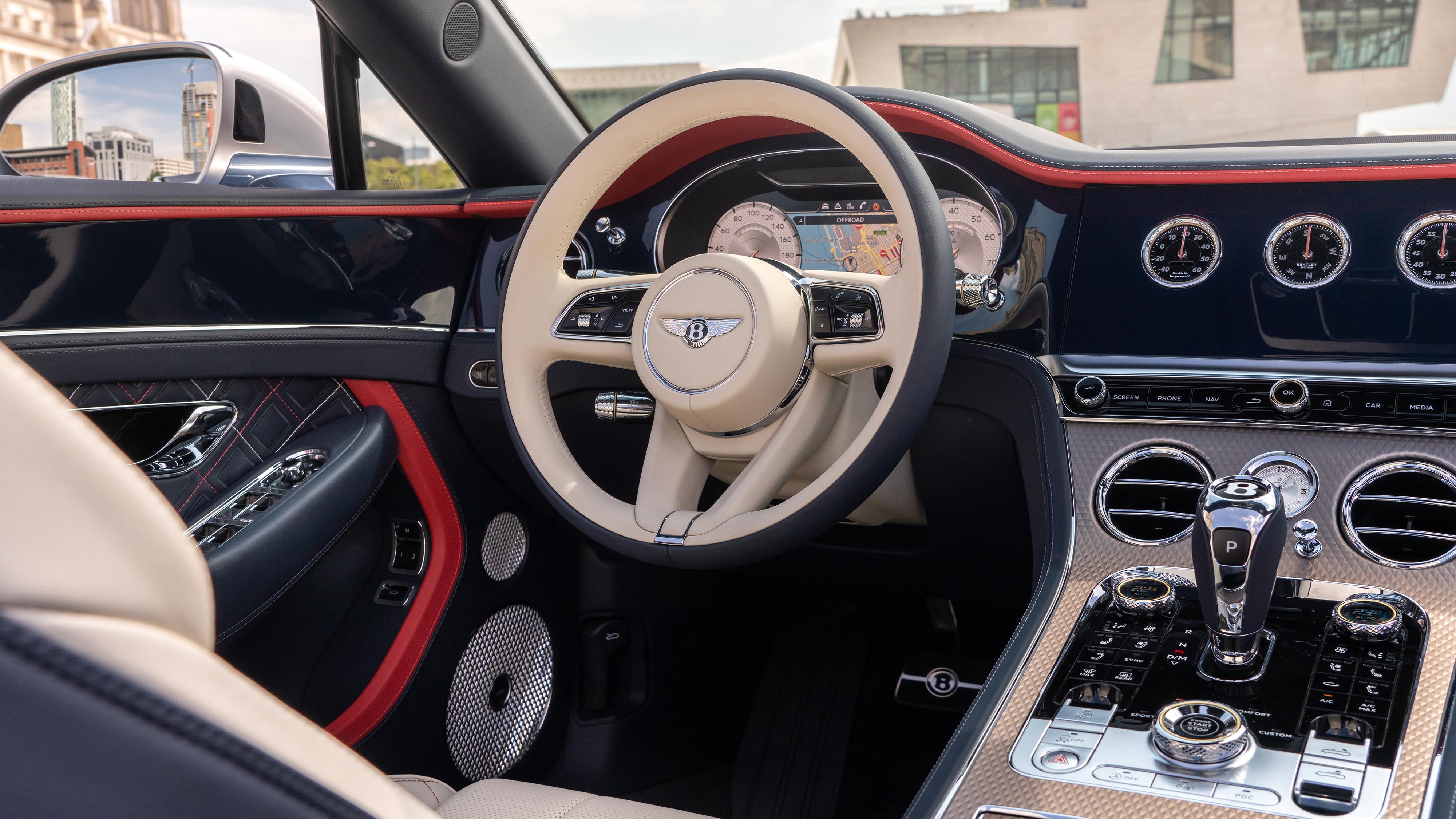 Bentley Continental Gt Mulliner Convertible 2020 4k Interior Wallpaper Hd Car Wallpapers Id 15467