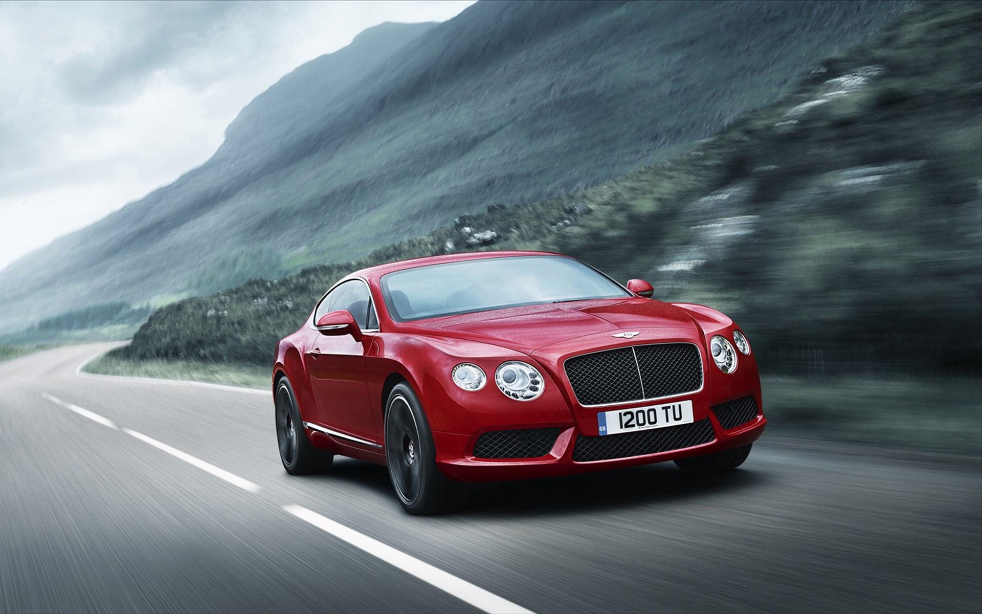 Bentley Continental GT V8 2012 Wallpaper