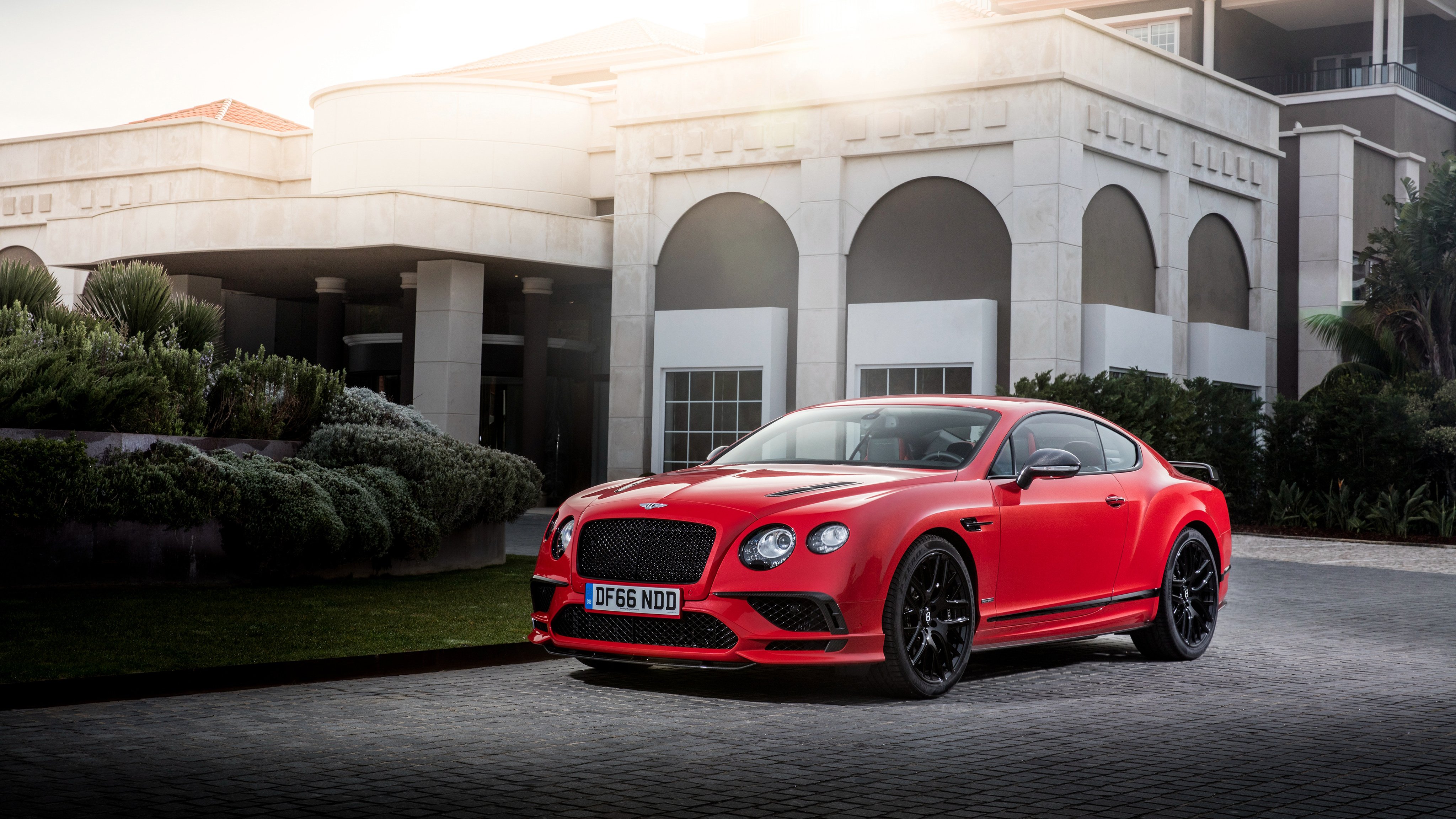 Bentley Continental Supersports 2017 4K