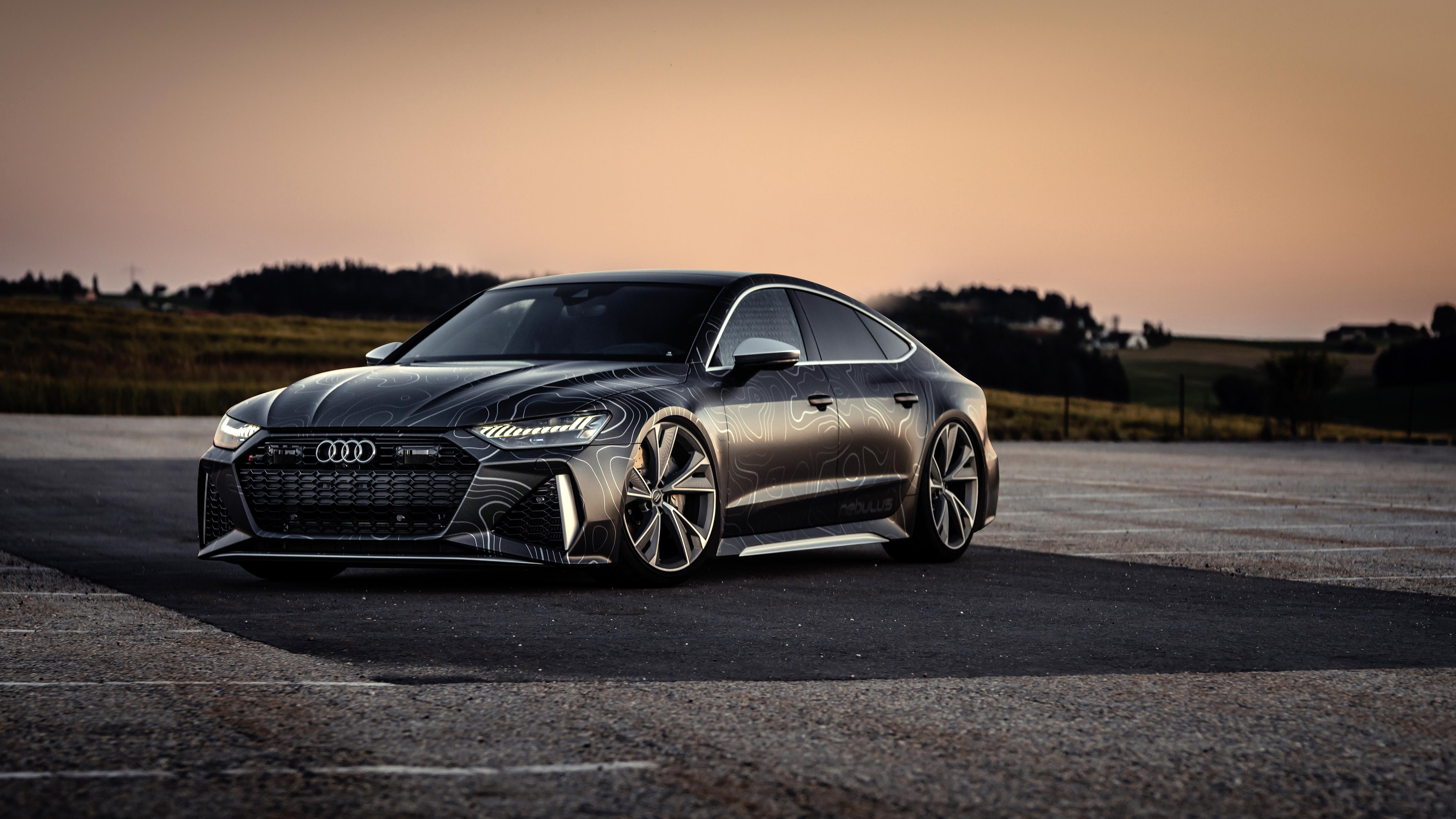 Black Box Richter Audi Rs 7 Sportback 2020 5k Wallpaper Hd Car Wallpapers Id 15421