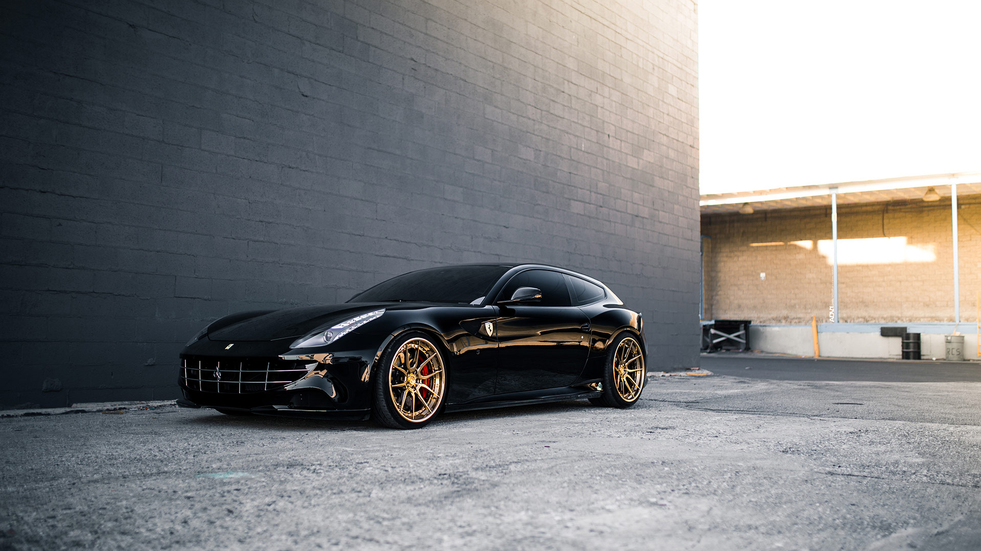 Black Ferrari FF 2 Wallpaper | HD Car Wallpapers | ID #10943