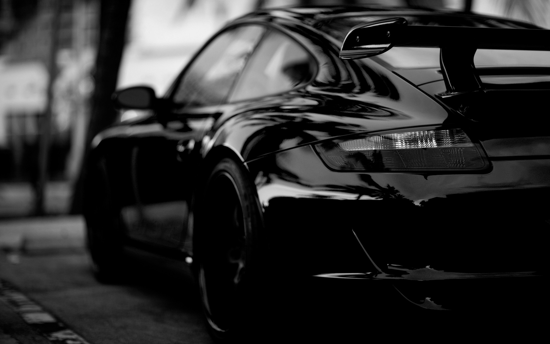 black porsche wallpaper | hd car wallpapers | id #2861