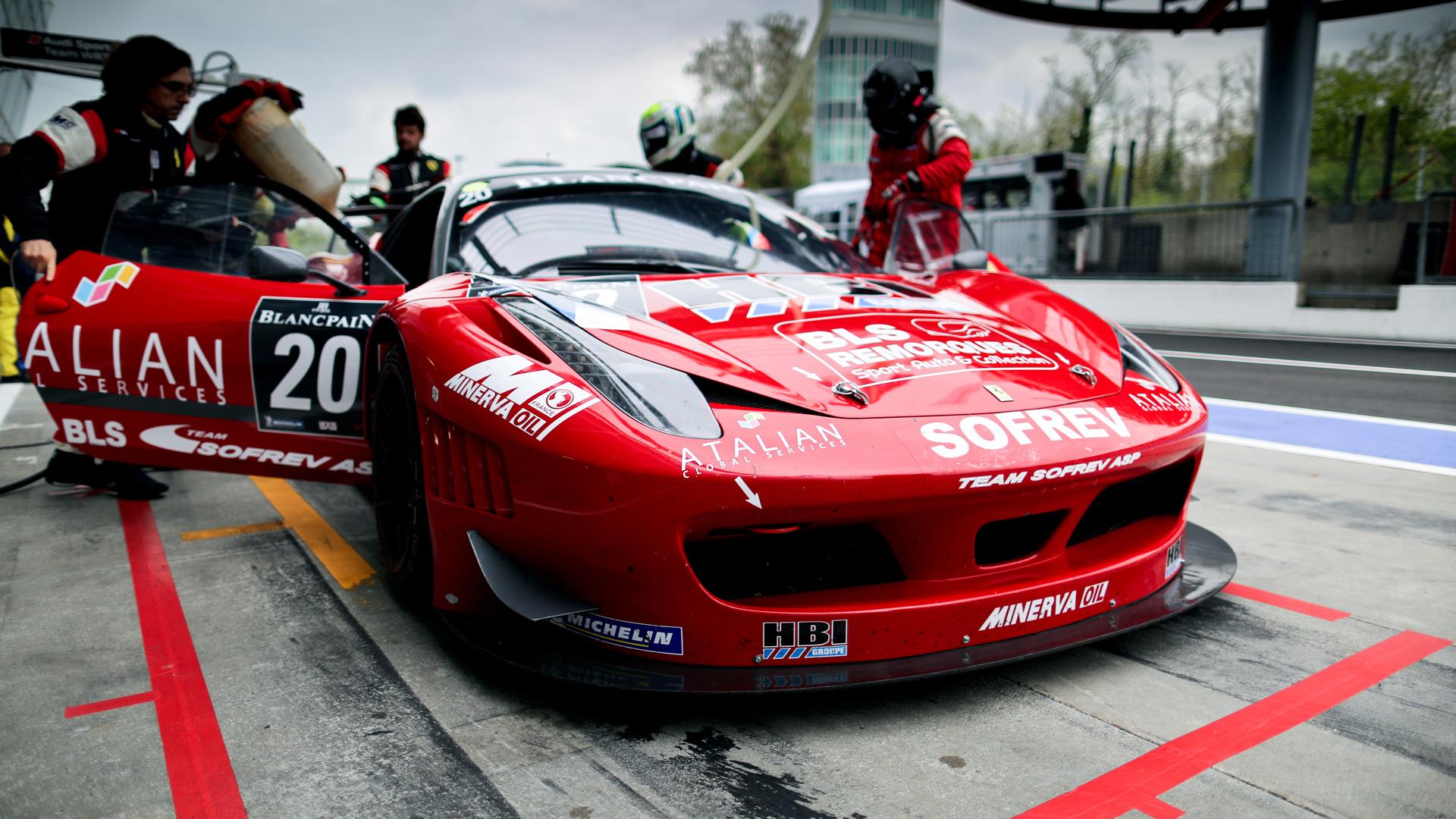 Blancpain Ferrari Monza 2012
