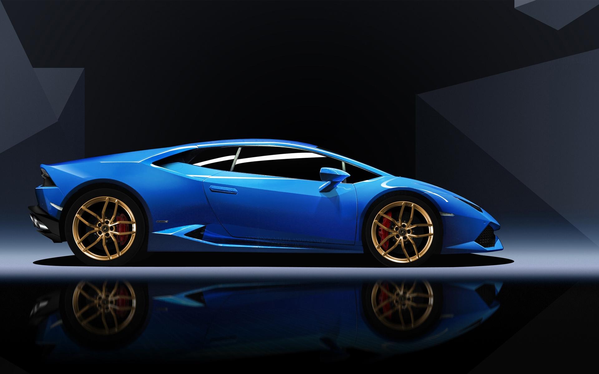 Blue Lamborghini Huracan Wallpaper Hd Car Wallpapers Id 5761