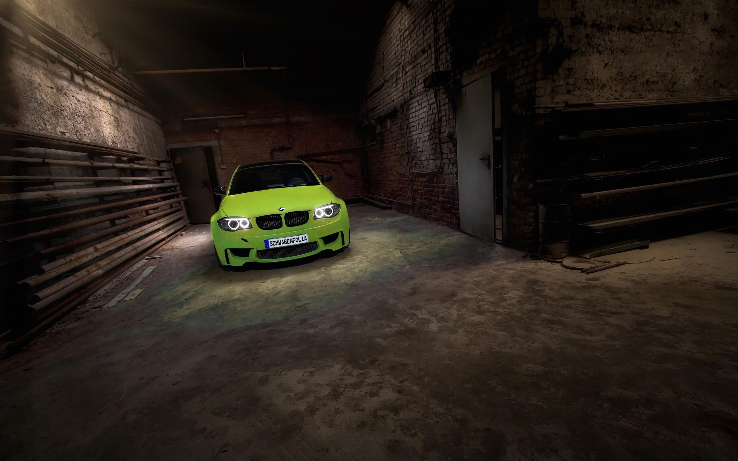 Bmw 1 Series M Coupe By Schwabenfolia Wallpaper Hd Car