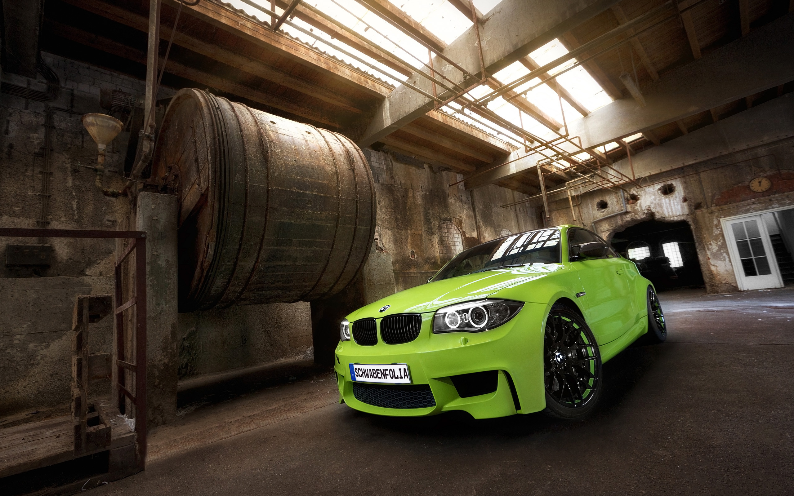 Bmw 1 Series M Coupe By Schwabenfolia 2 Wallpaper Hd Car Wallpapers Id 4101
