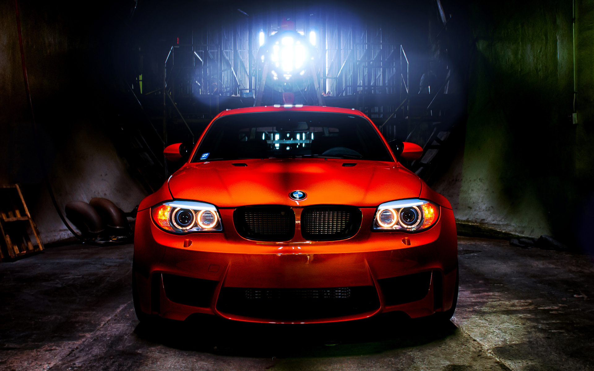 BMW 1M HDR Wallpaper | HD Car Wallpapers | ID #2966