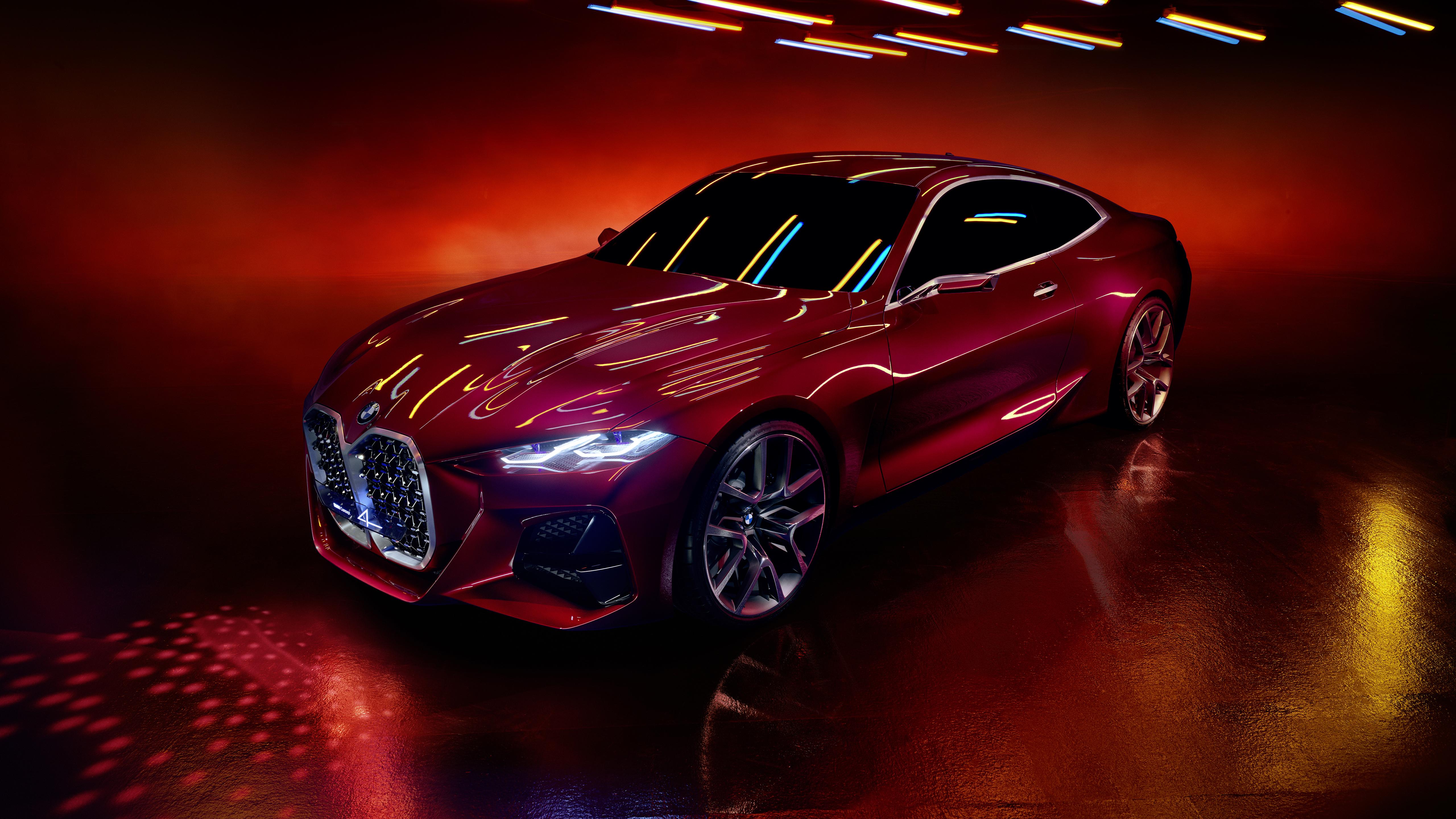 BMW Concept 4 2019 4K Wallpaper | HD Car Wallpapers | ID ...