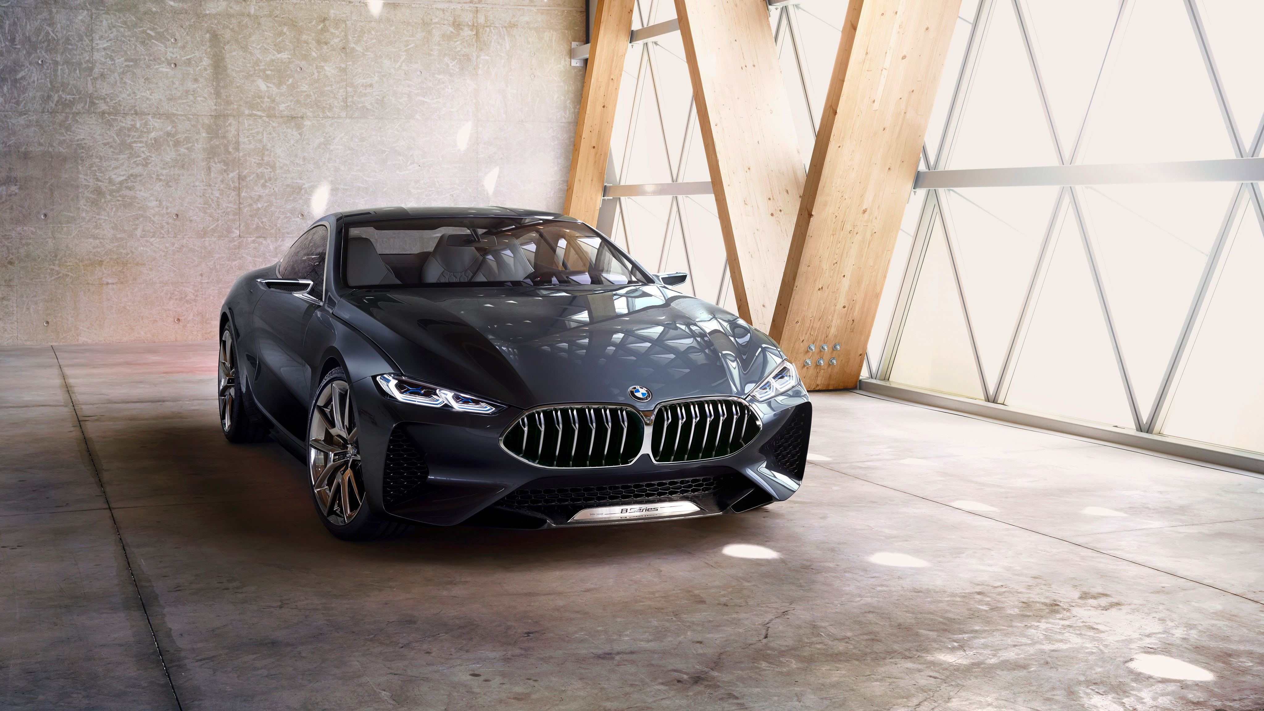 BMW Concept 8 Series 4K Wallpaper   HD Car Wallpapers   ID ...