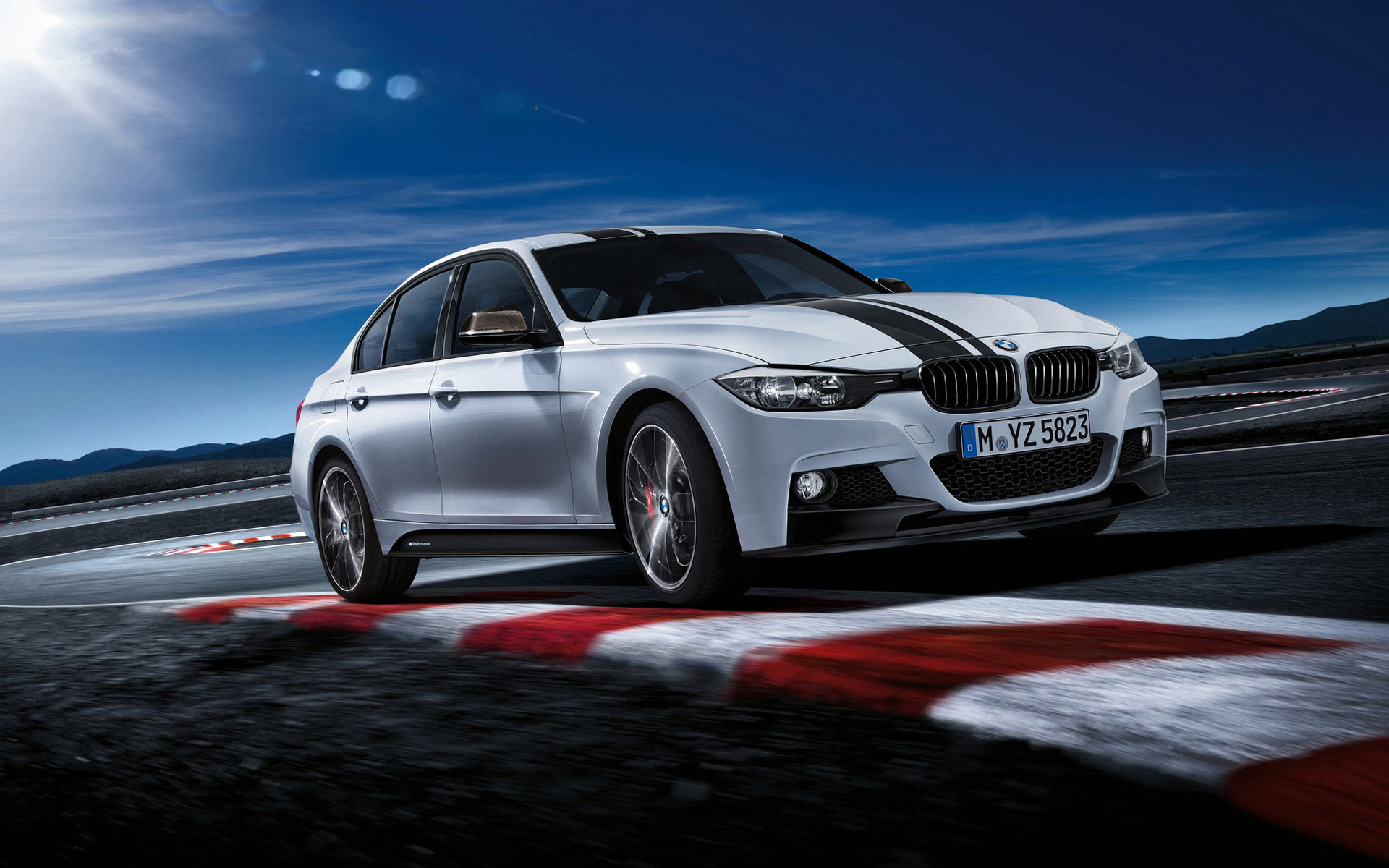 Bmw F30 3 Series M Performance Wallpaper Hd Car Wallpapers