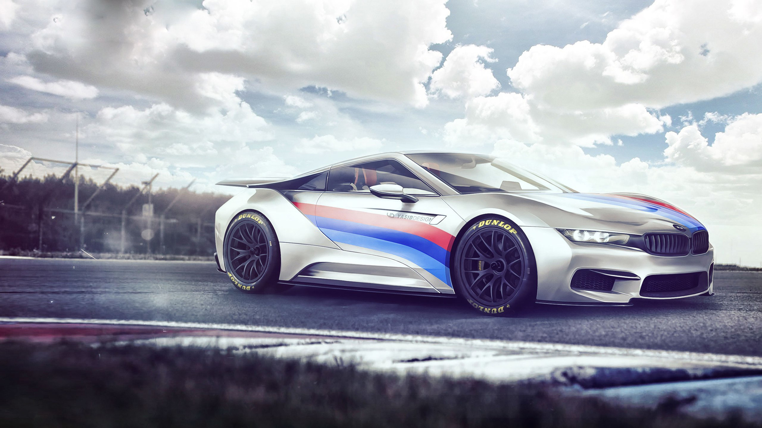 Bmw I8 Concept Electro Wallpaper Hd Car Wallpapers