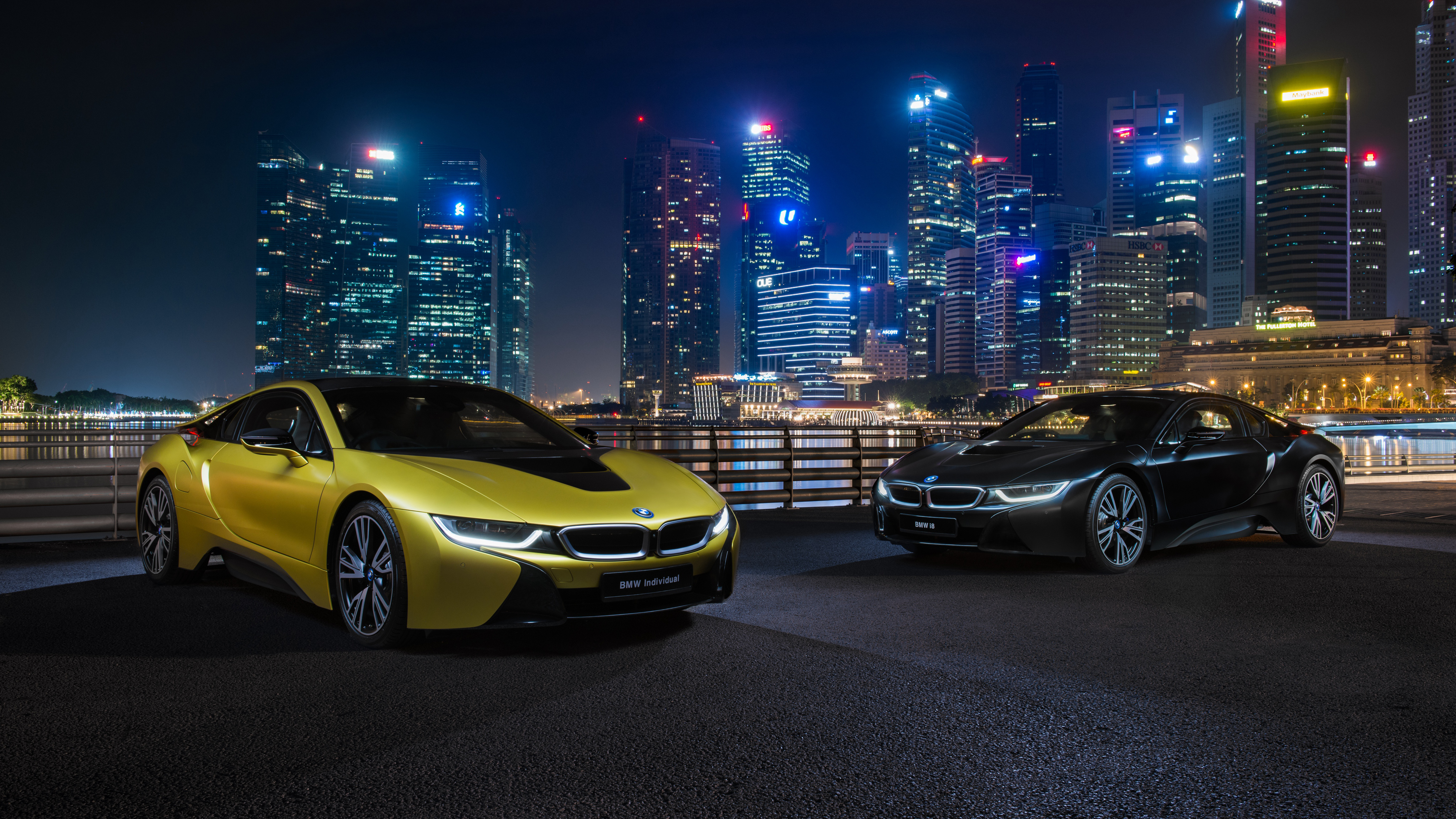 Bmw i8 frozen yellow edition 4k wallpaper hd car - Wallpaper hd 4k car ...