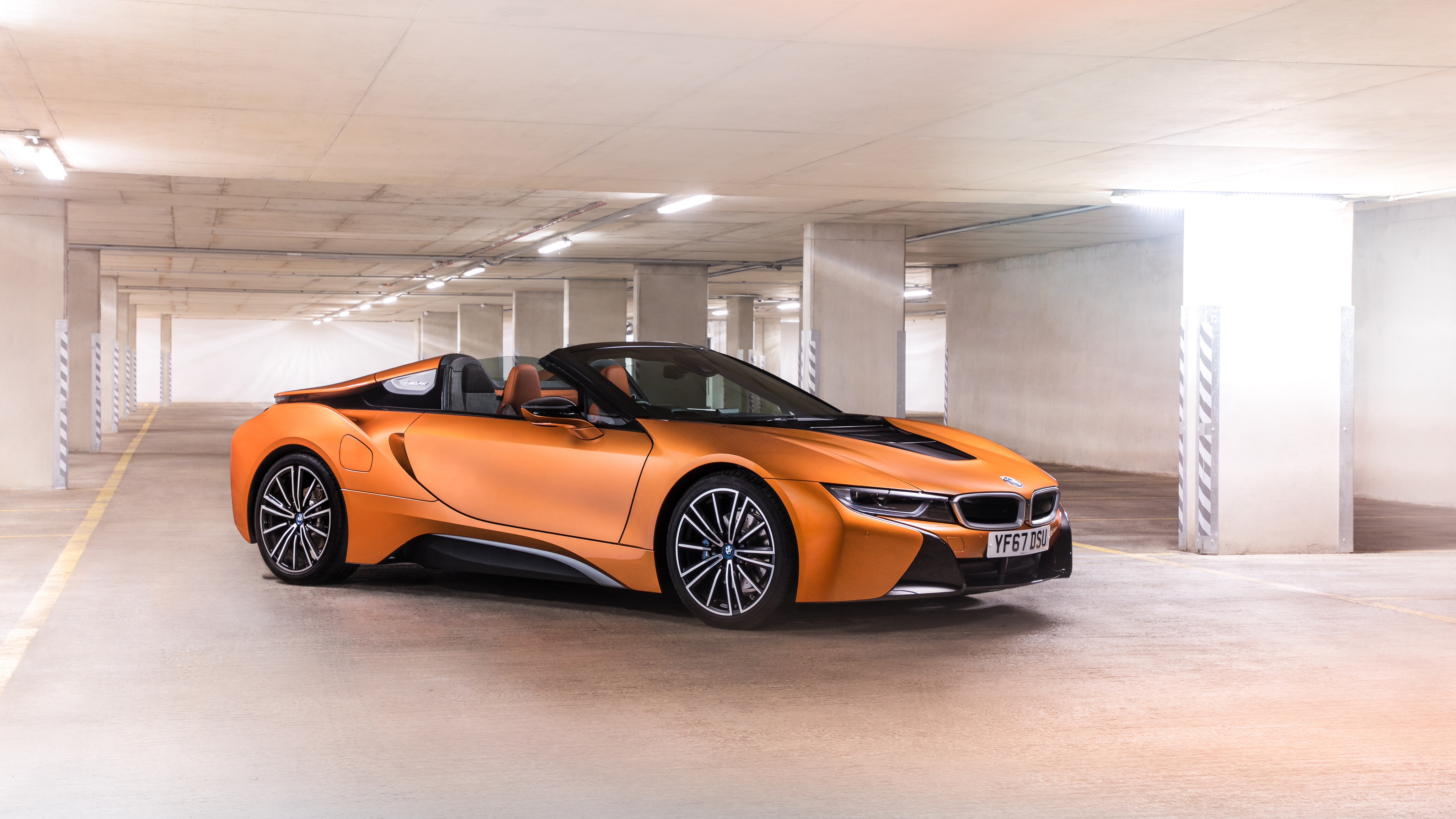 Bmw I8 Roadster 2018 4k 4 Wallpaper Hd Car Wallpapers Id 10921