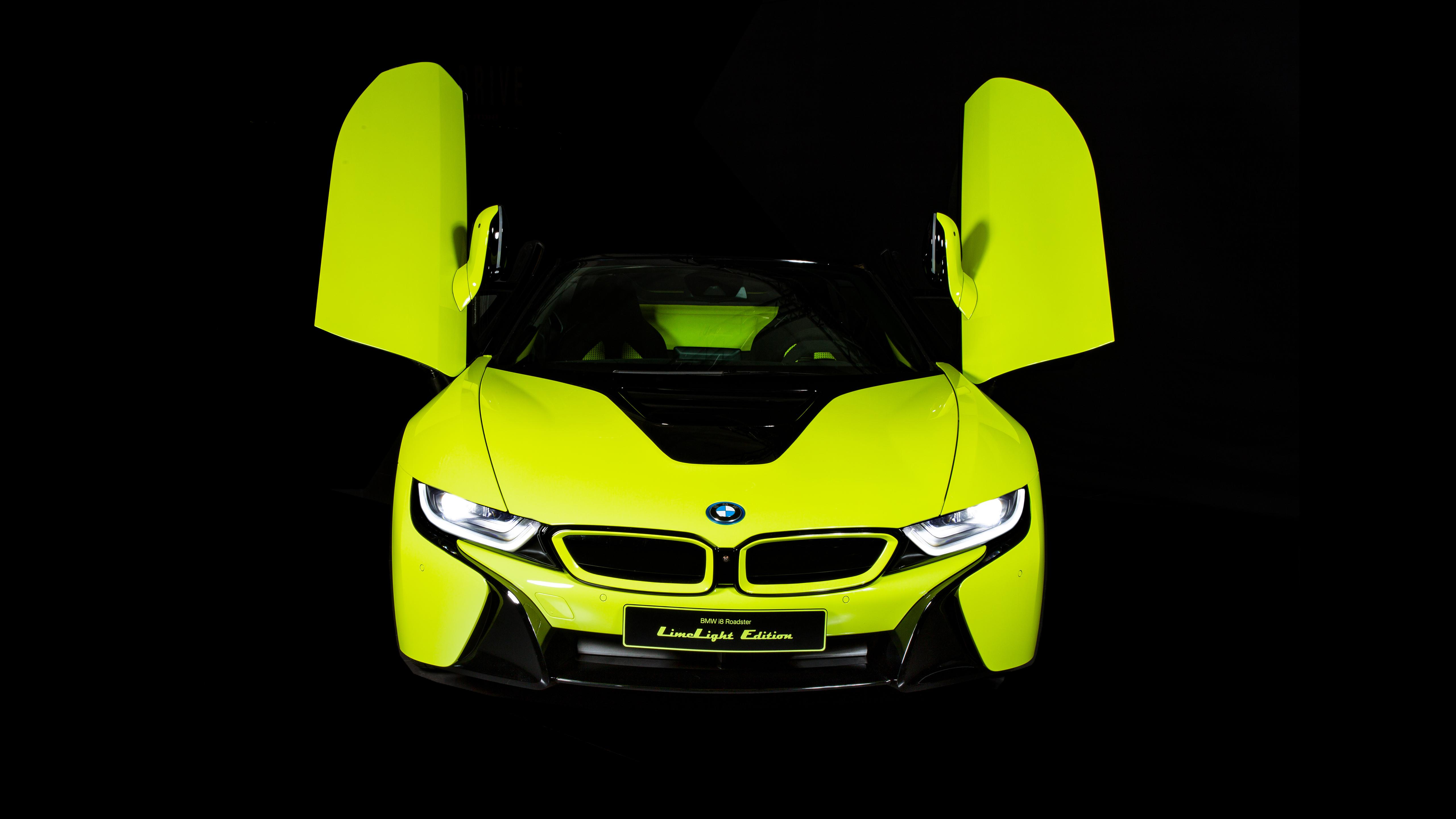 BMW i8 Roadster LimeLight Edition 2019 4K Wallpaper | HD ...