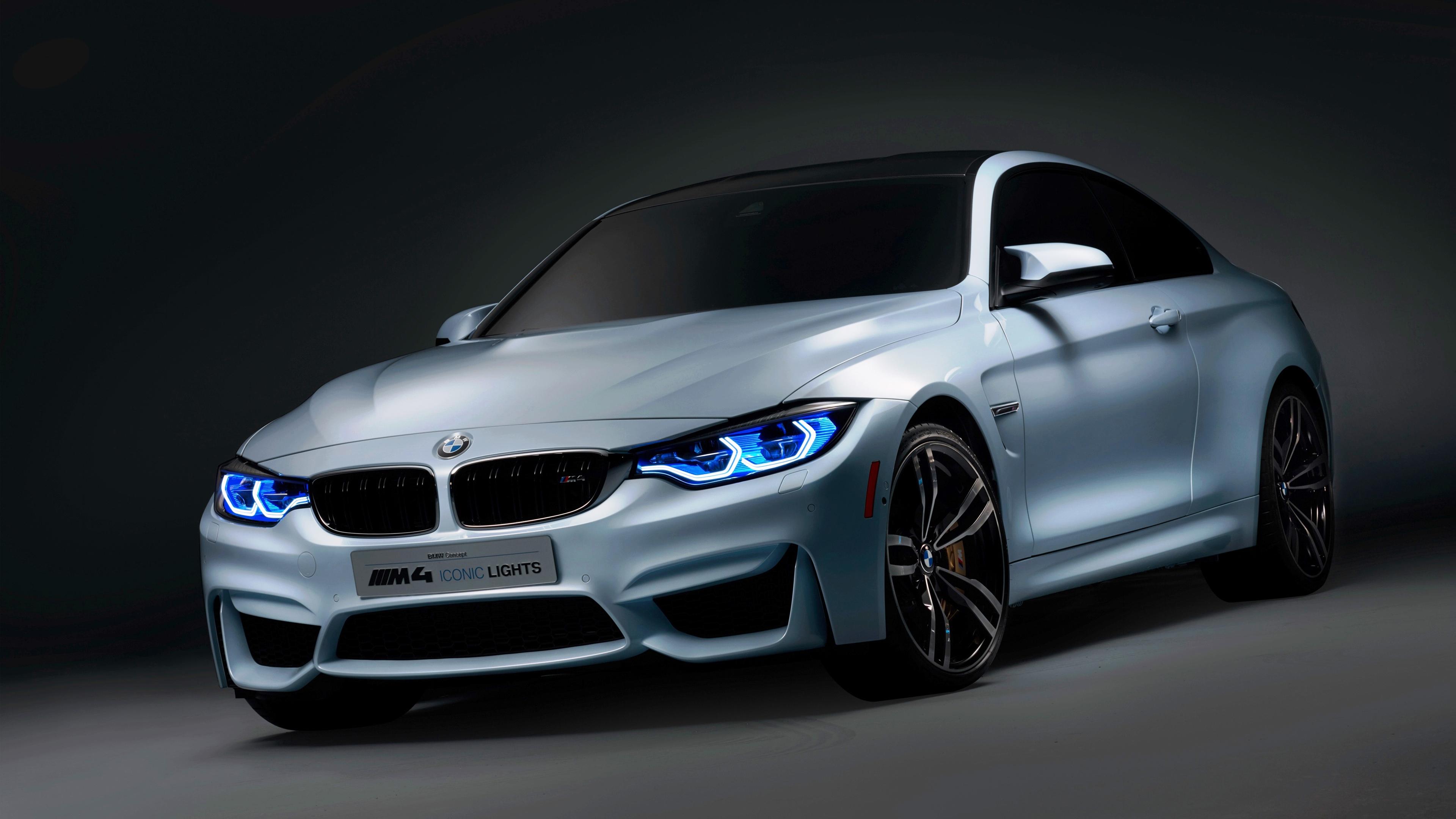 BMW Iconic Lights 4K Wallpaper | HD Car Wallpapers | ID #7099