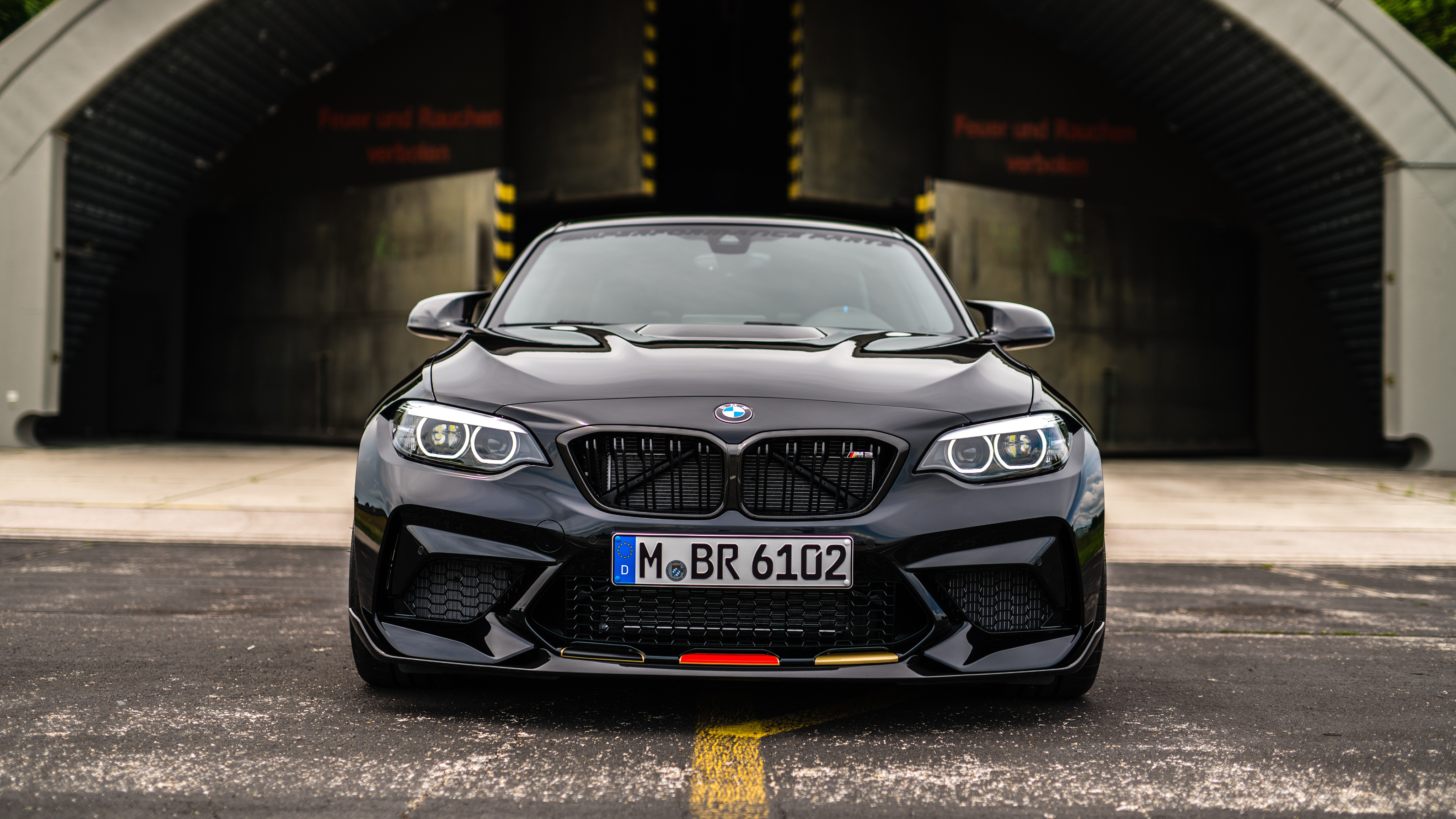 Bmw M2 Competition M Performance Accessories 2018 4k