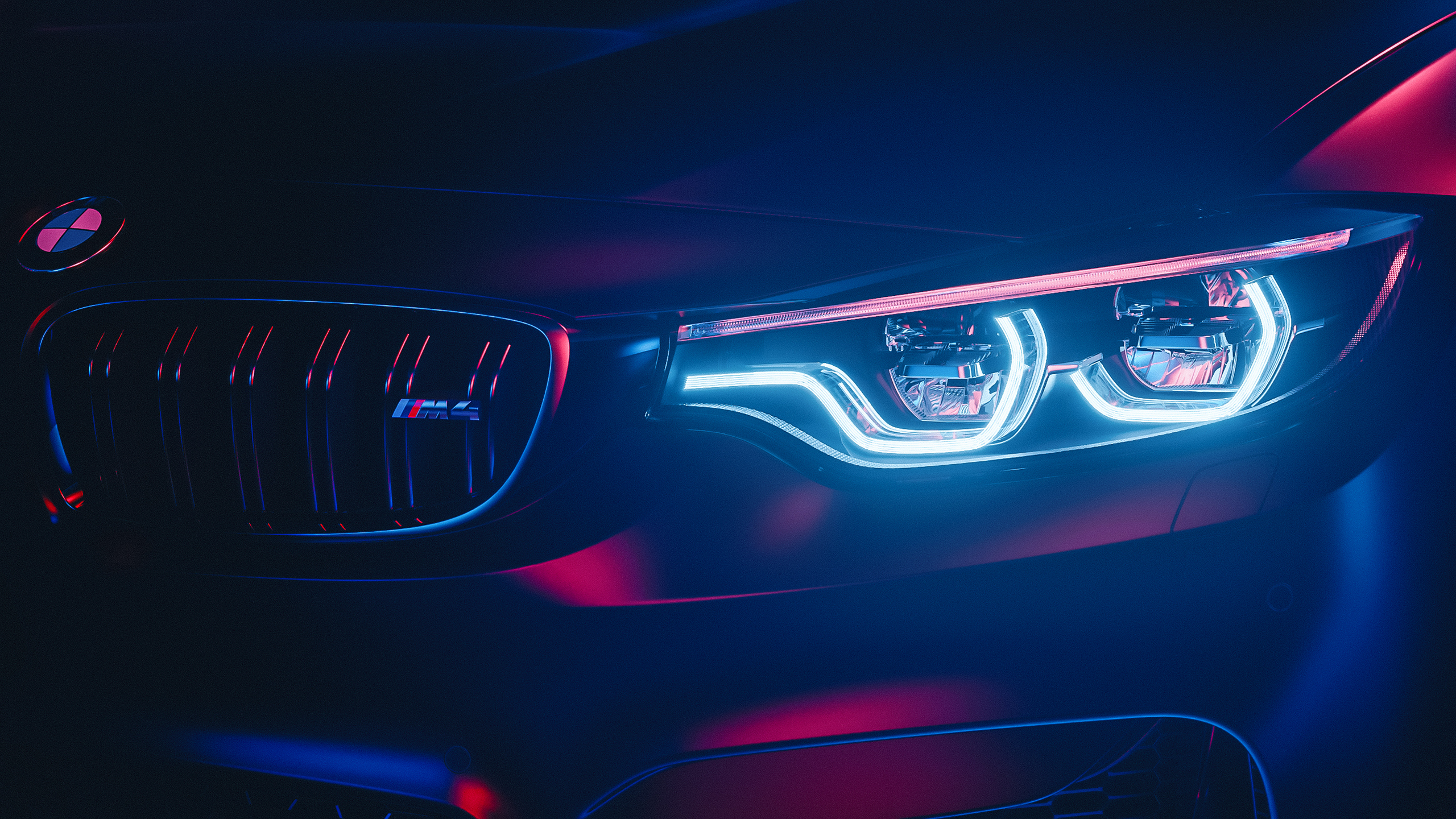 Bmw M4 M Performance Led Headlights Wallpaper Hd Car