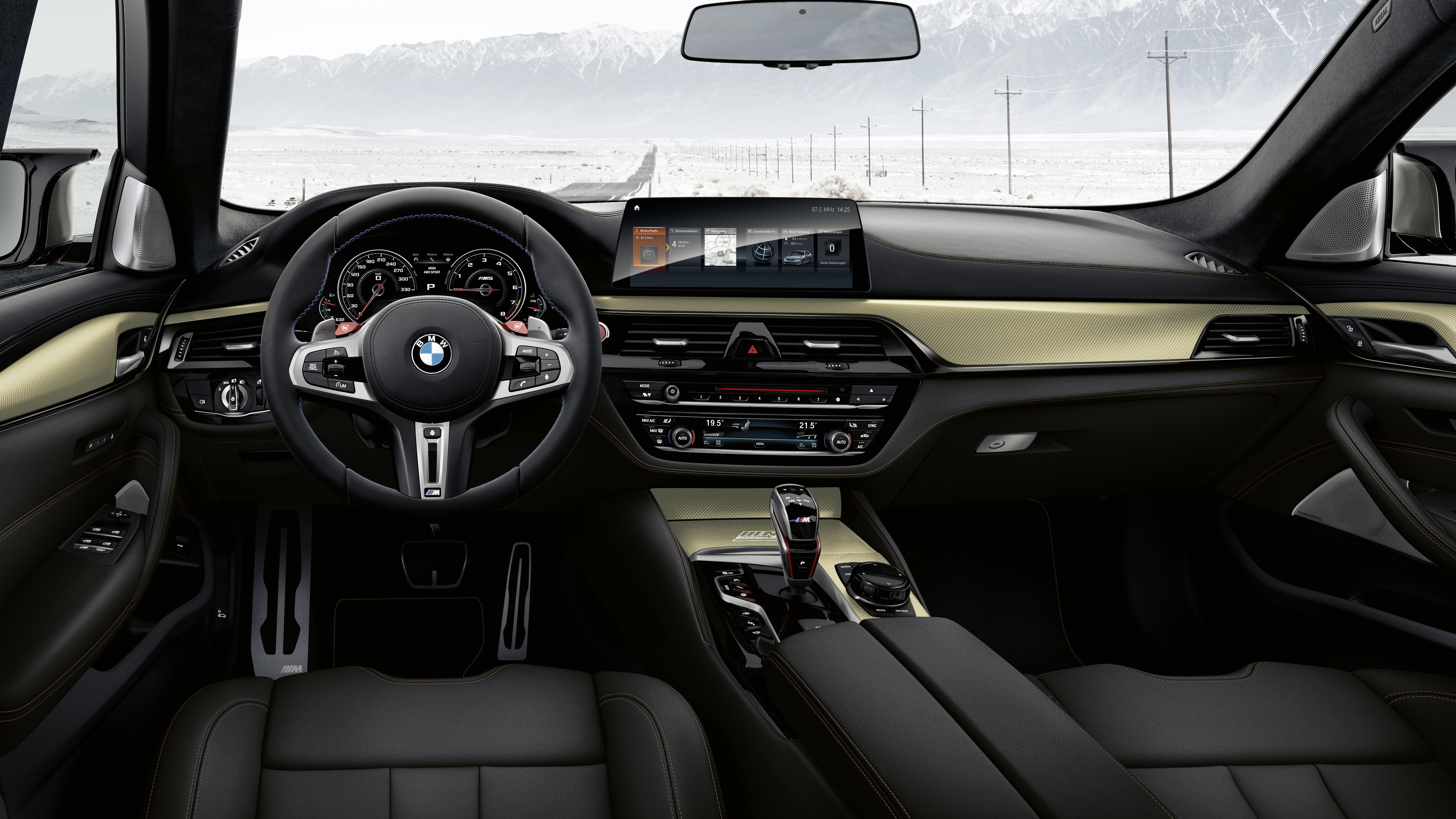Bmw M5 Competition Edition 35 Jahre 2019 Interior Wallpaper Hd Car